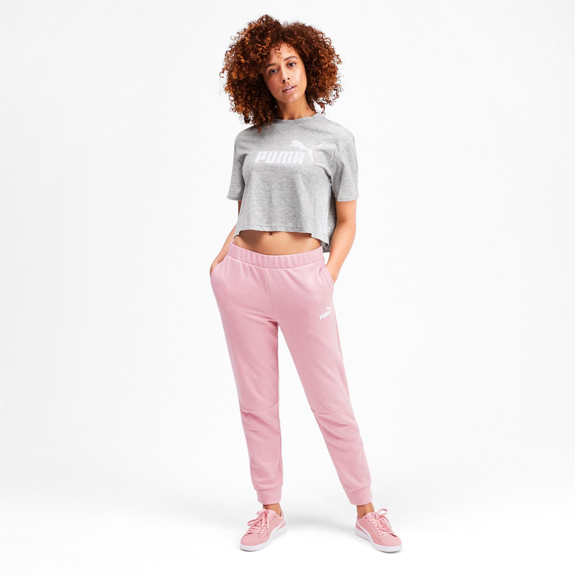 Miniatura 4 de Camiseta corta Amplified para mujer, Light Gray Heather, mediano