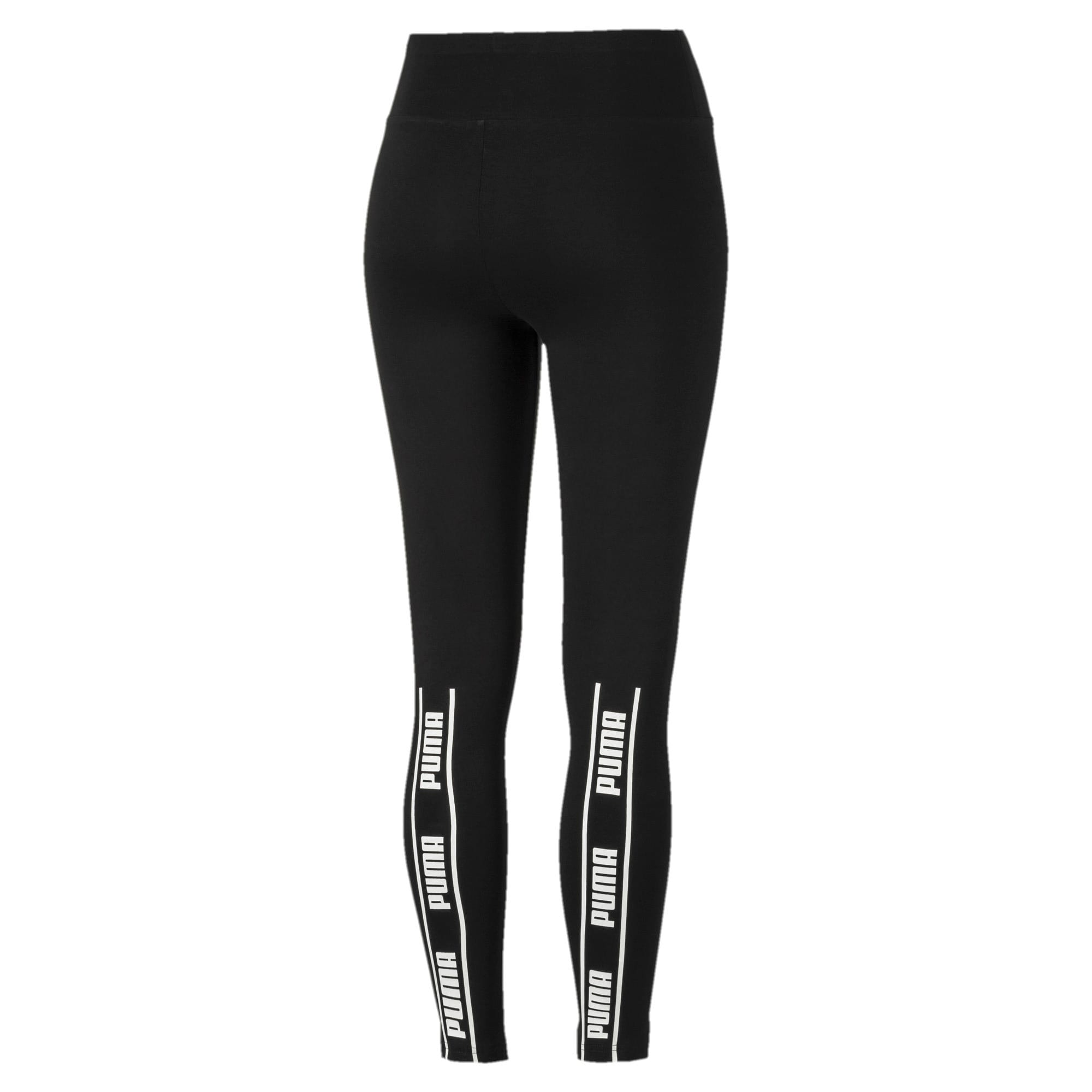 Miniatura 5 de Leggings Amplified para mujer, Puma Black, mediano