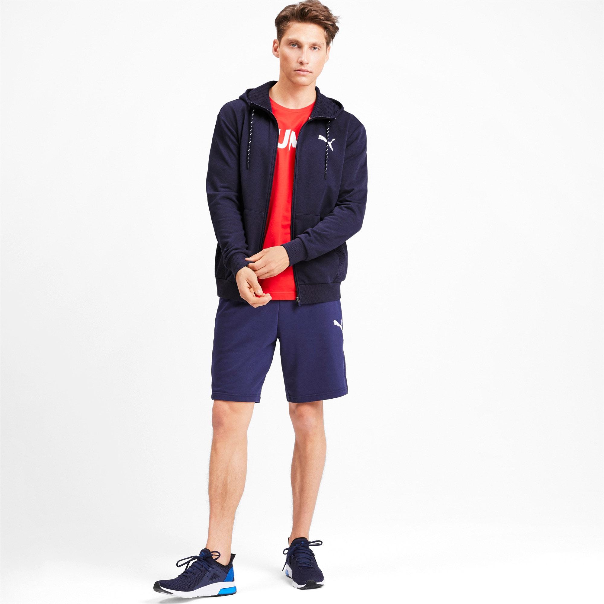 Miniatura 3 de Sudadera Modern Sports con capucha y cierre completo para hombre, Peacoat, mediano