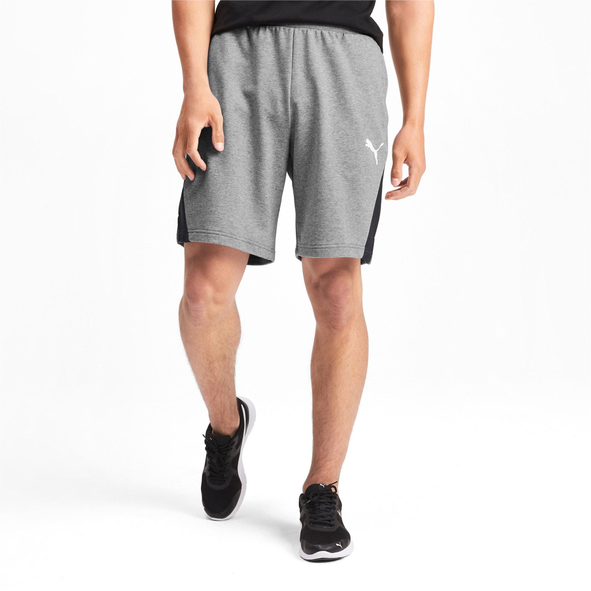 Miniatura 2 de Shorts Modern Sports para hombre, Medium Gray Heather, mediano