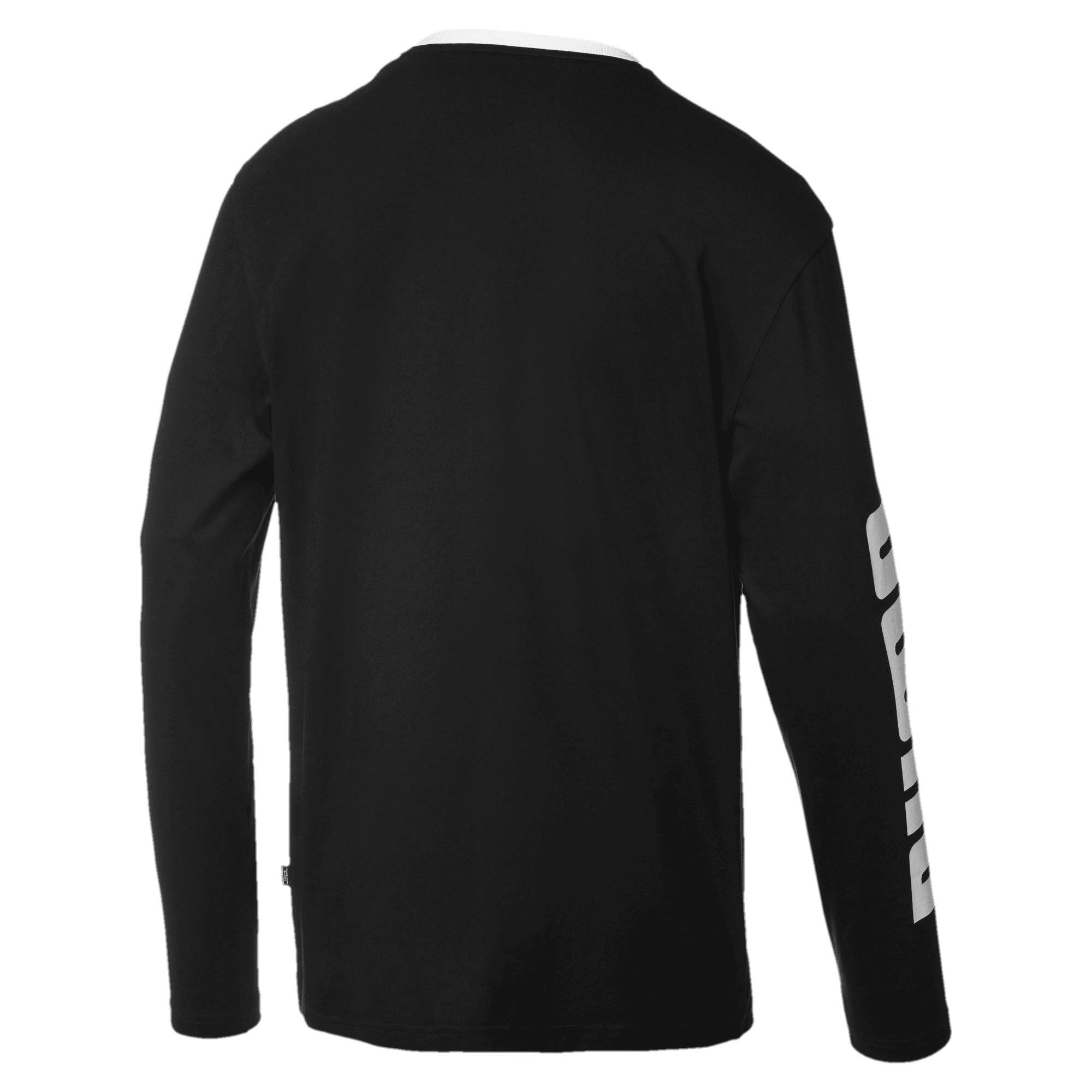 Thumbnail 5 of Rebel Bold Men's Long Sleeve Tee, Puma Black, medium