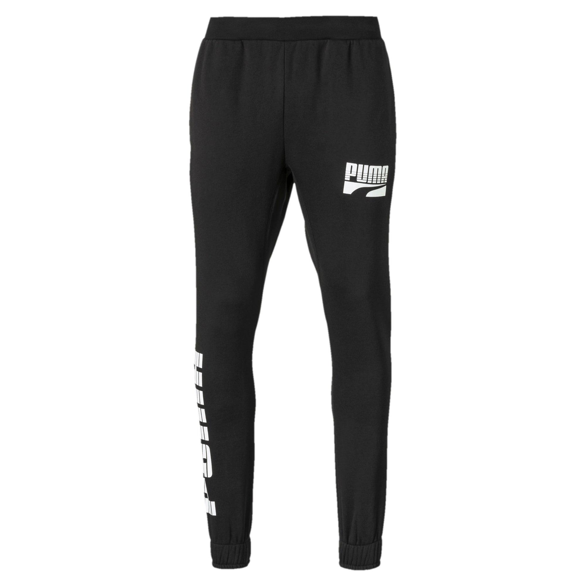 Thumbnail 1 of Rebel Bold Men's Pants, Puma Black, medium