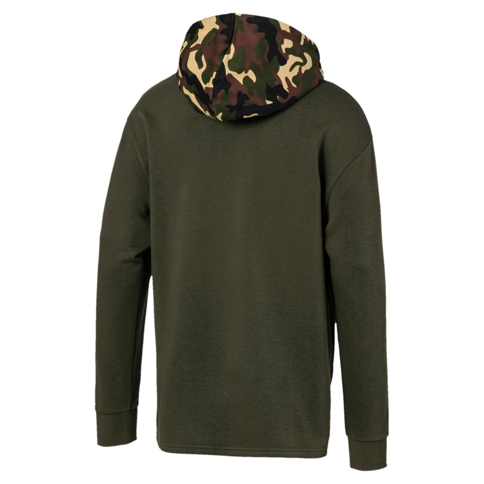 Thumbnail 5 of Rebel Camo Men's Hoodie, Forest Night, medium