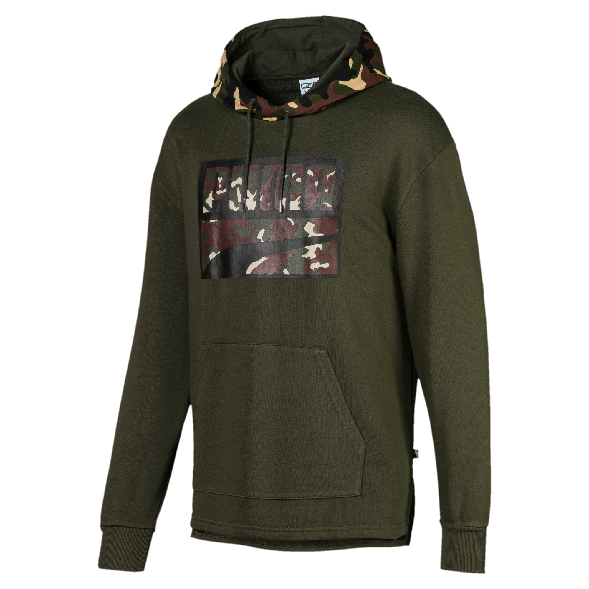 Thumbnail 1 of Rebel Camo Men's Hoodie, Forest Night, medium