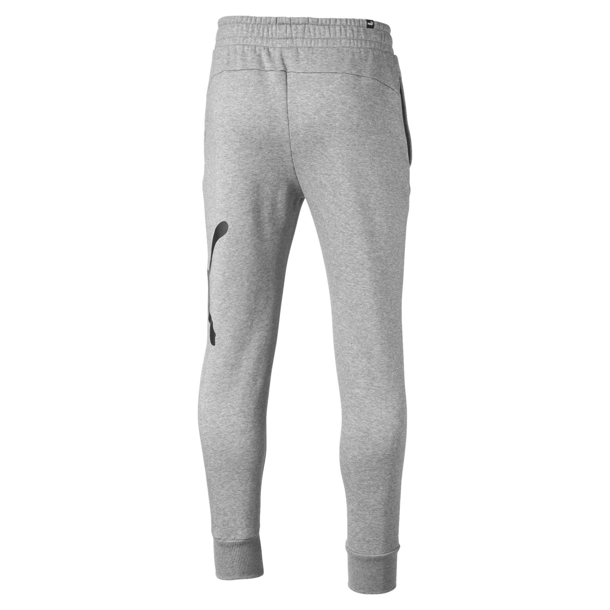 Thumbnail 5 of Men's Big Logo Fleece Sweatpants, Medium Gray Heather, medium