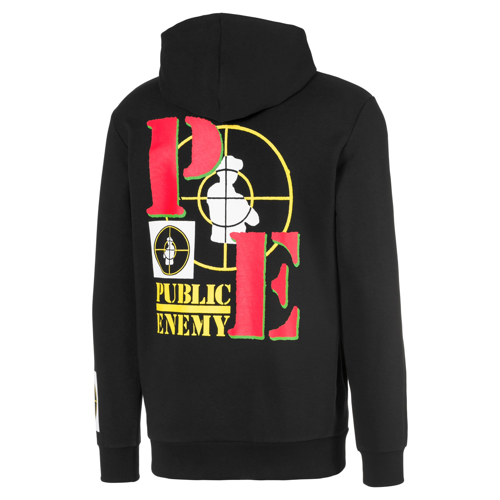 Thumbnail 2 of PUMA x PUBLIC ENEMY Men's Hoodie, Puma Black, medium