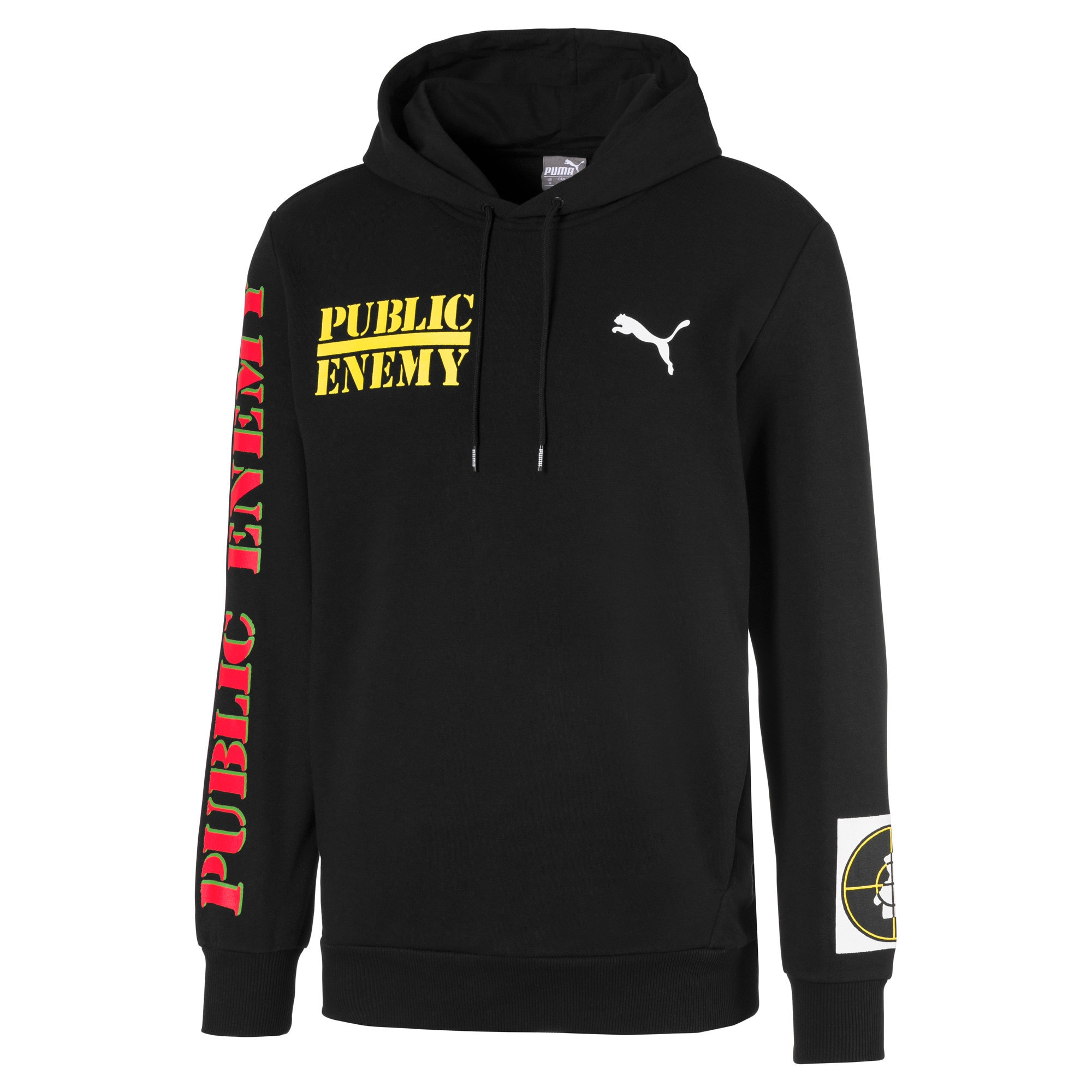 Thumbnail 1 of PUMA x PUBLIC ENEMY Men's Hoodie, Puma Black, medium