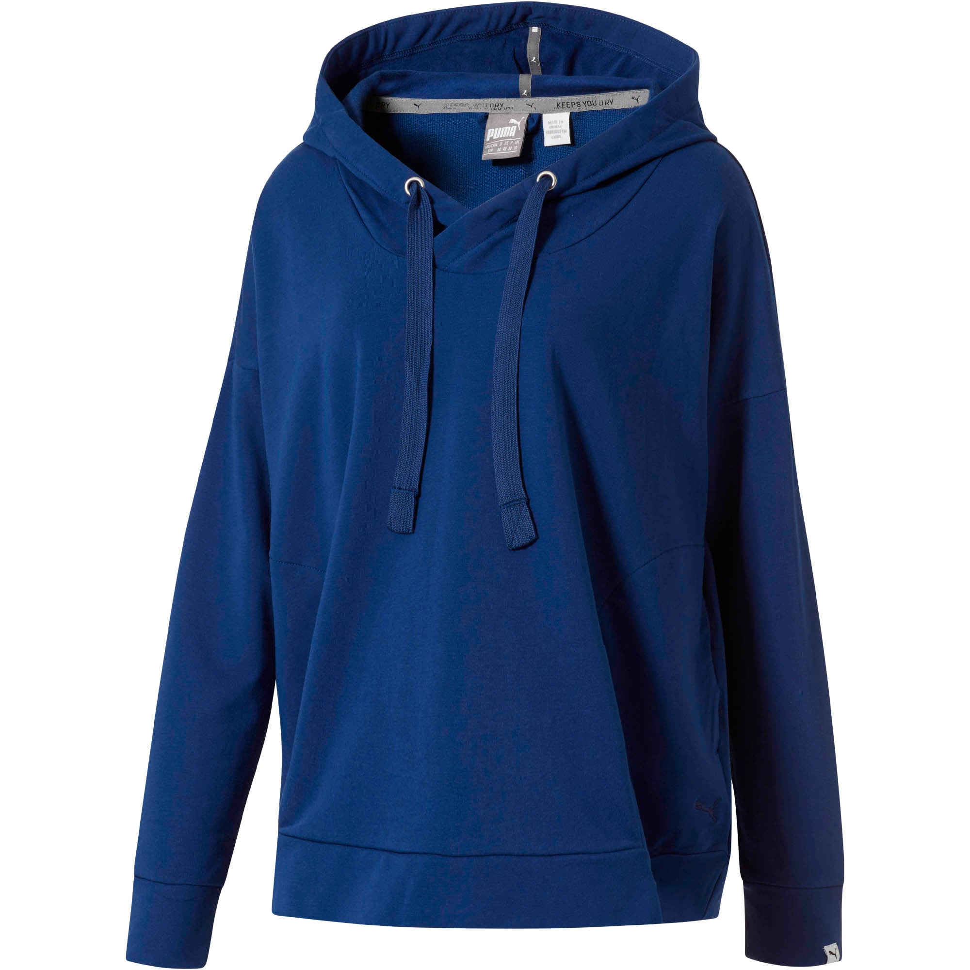 Fusion Hoodie, Blue Depths, large