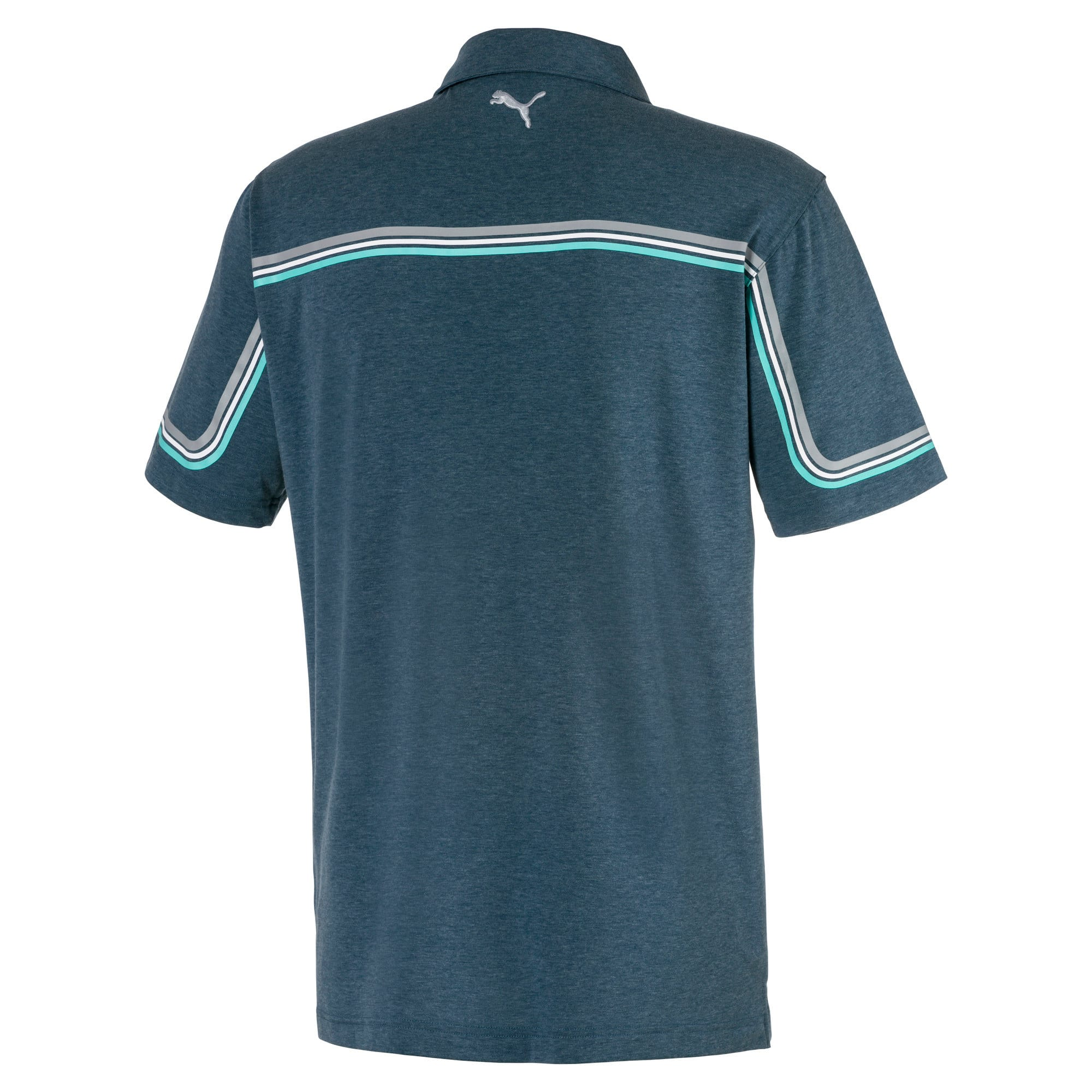 Thumbnail 5 of Looping Men's Golf Polo, Gibraltar Sea Heather, medium