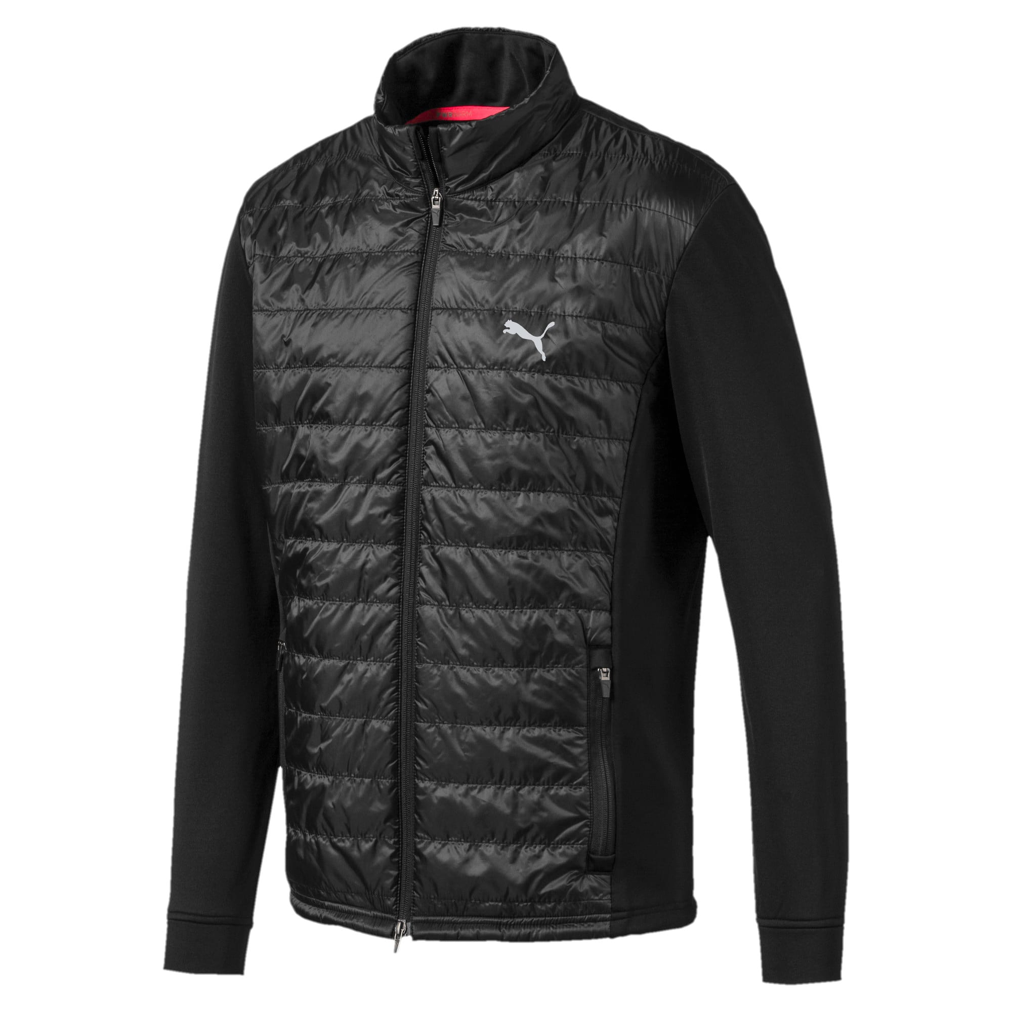 Thumbnail 5 of Quilted Primaloft® Men's Golf Jacket, Puma Black, medium