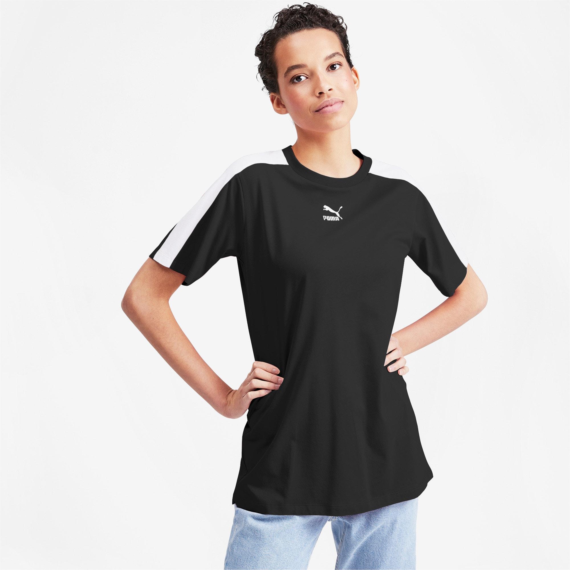 Miniatura 1 de Camiseta Classics T7 para mujer, Puma Black, mediano