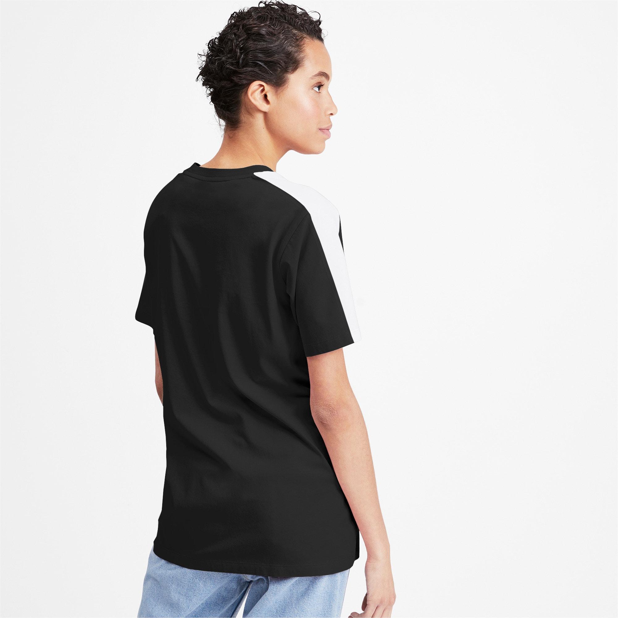Miniatura 2 de Camiseta Classics T7 para mujer, Puma Black, mediano