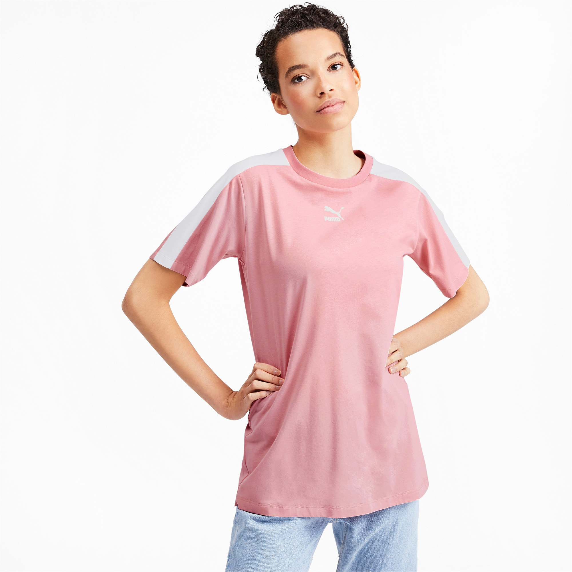 Miniatura 1 de Camiseta Classics T7 para mujer, Bridal Rose, mediano