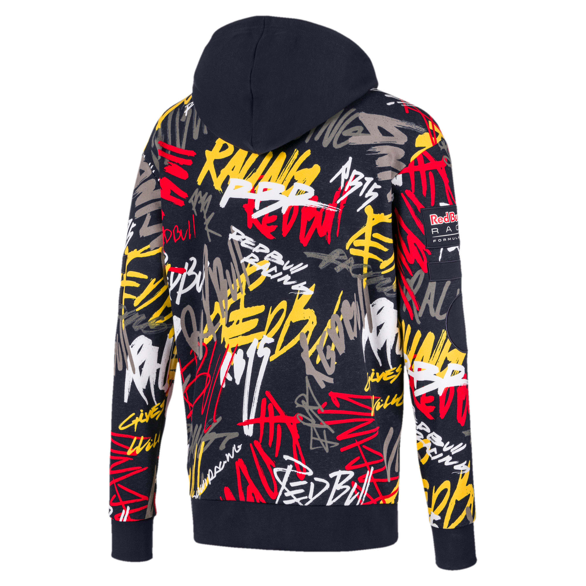 Thumbnail 5 of Red Bull Racing Street Men's Midlayer Hoodie, NIGHT SKY, medium