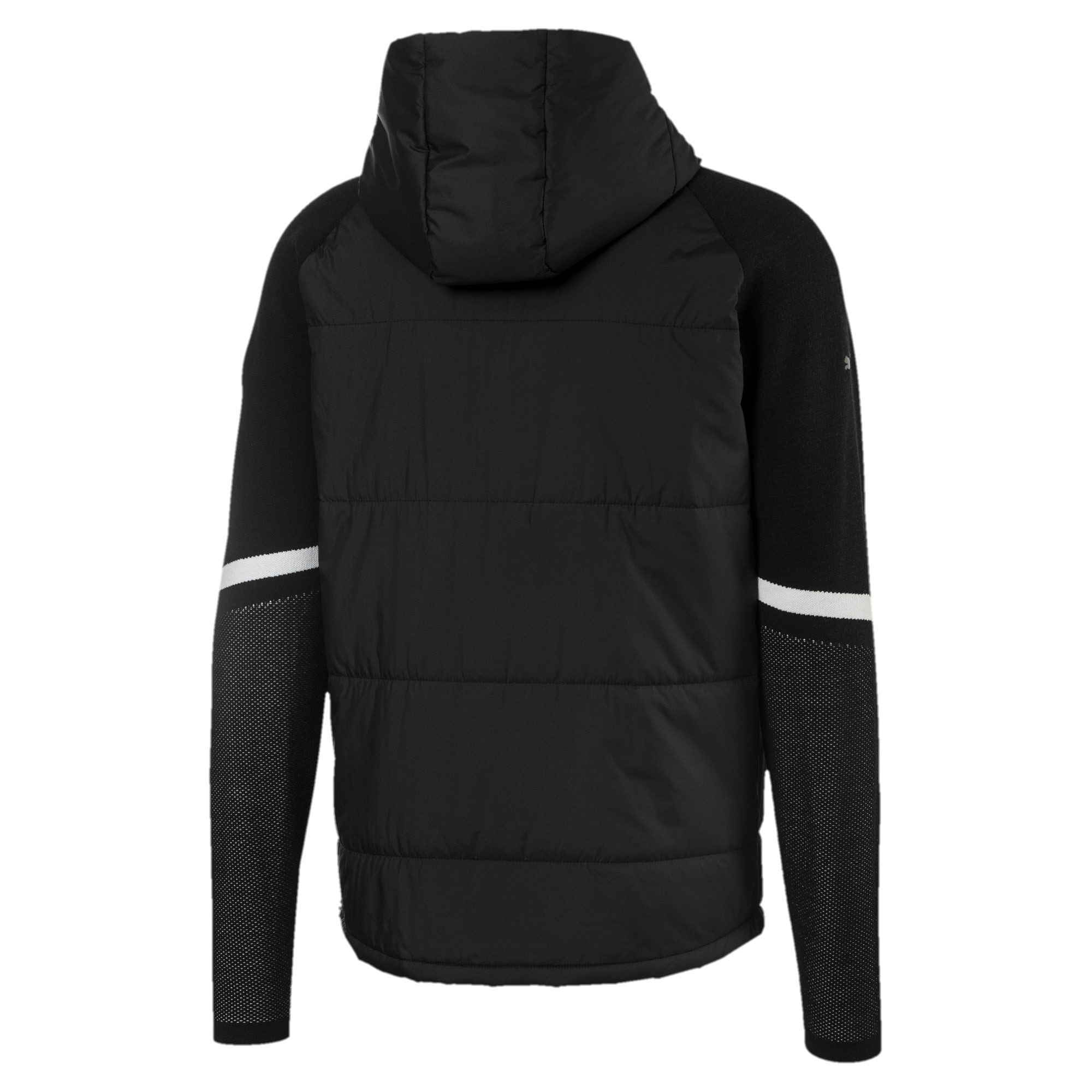 Thumbnail 2 of BMW Motorsport evoKNIT Knitted Men's Sweater, Puma Black, medium
