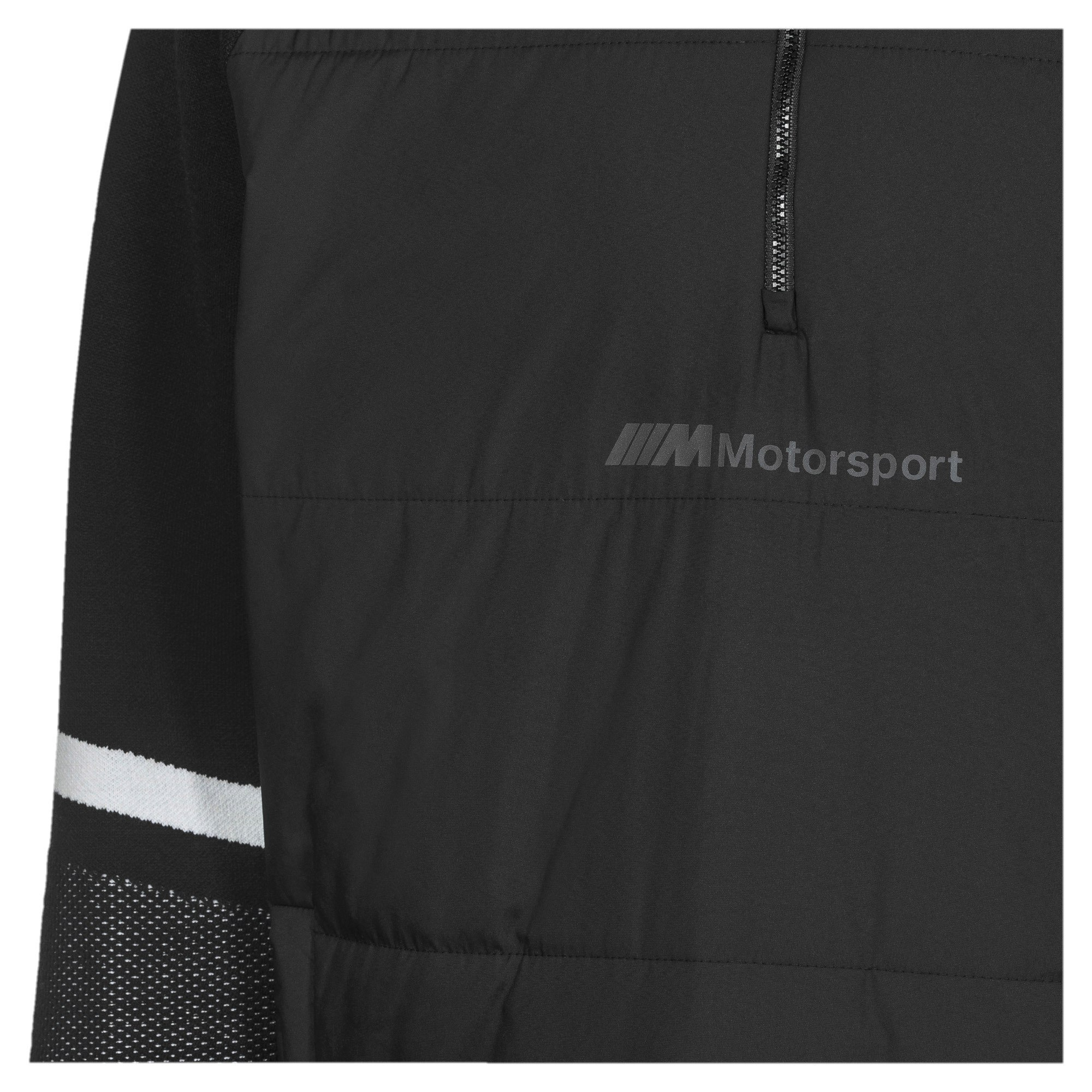 Thumbnail 3 of BMW Motorsport evoKNIT Knitted Men's Sweater, Puma Black, medium