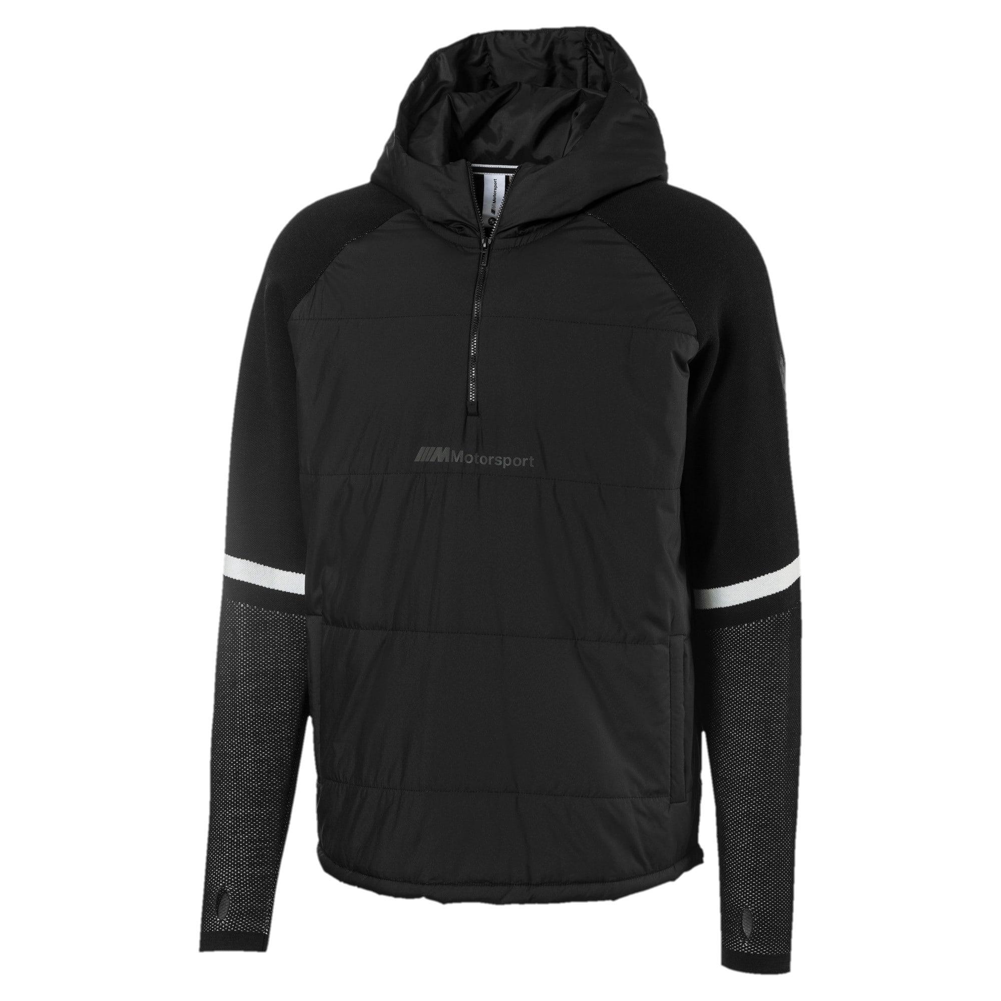 Thumbnail 1 of BMW Motorsport evoKNIT Knitted Men's Sweater, Puma Black, medium