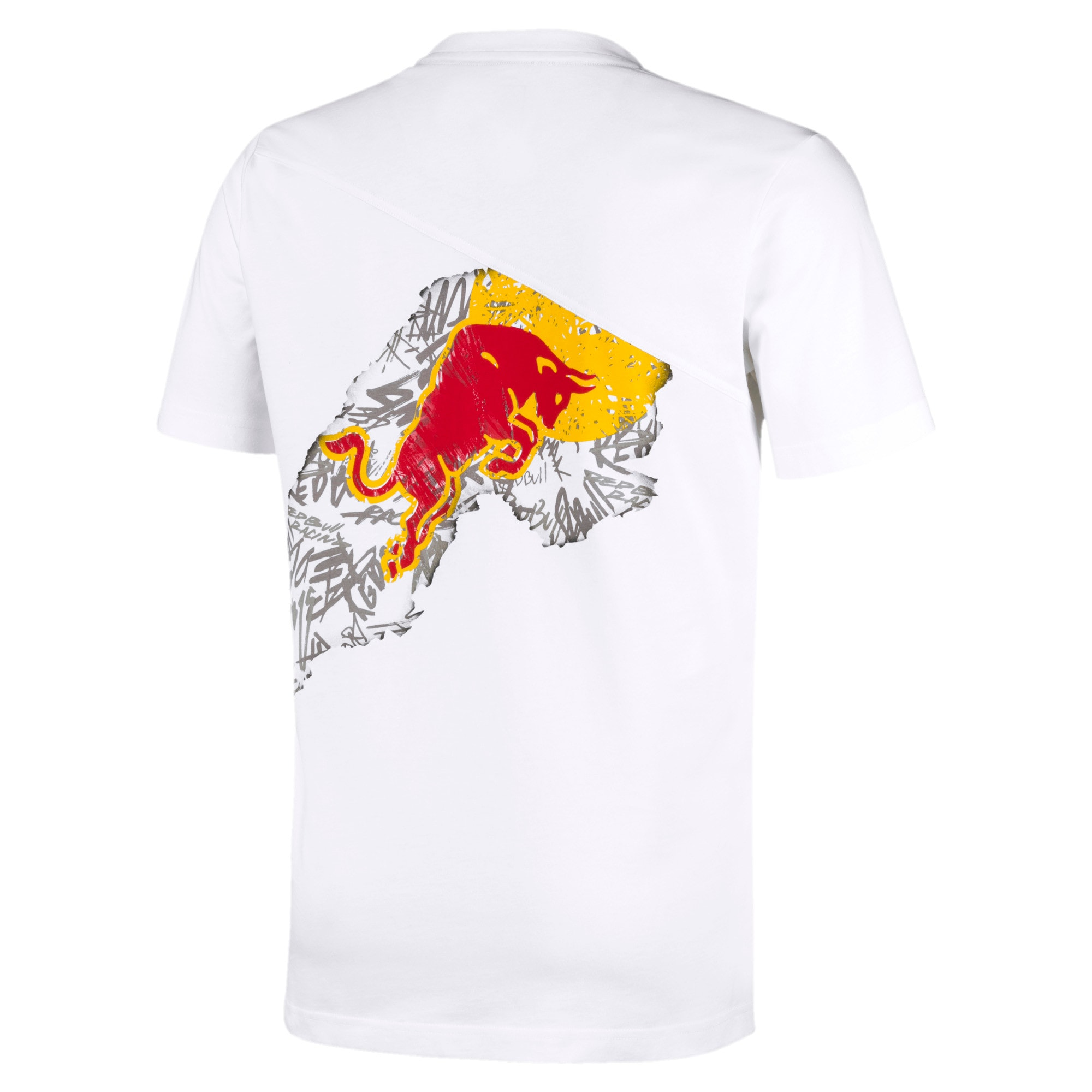 Thumbnail 2 of Red Bull Racing Dynamic Bull Men's Tee, Puma White, medium