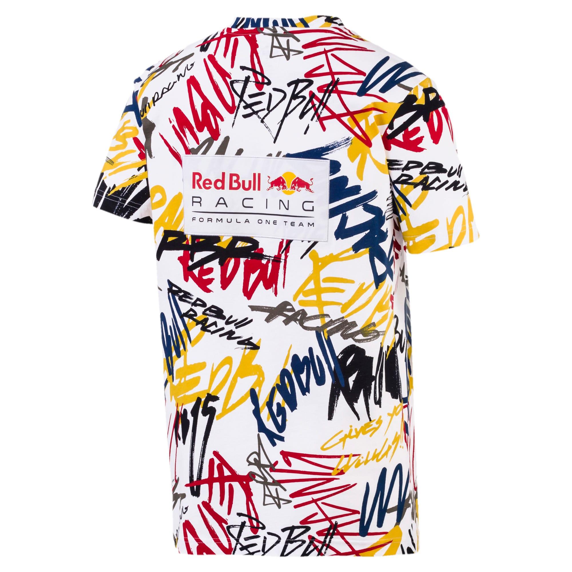Miniatura 2 de Camiseta Red Bull AOP para hombre, Puma White, mediano