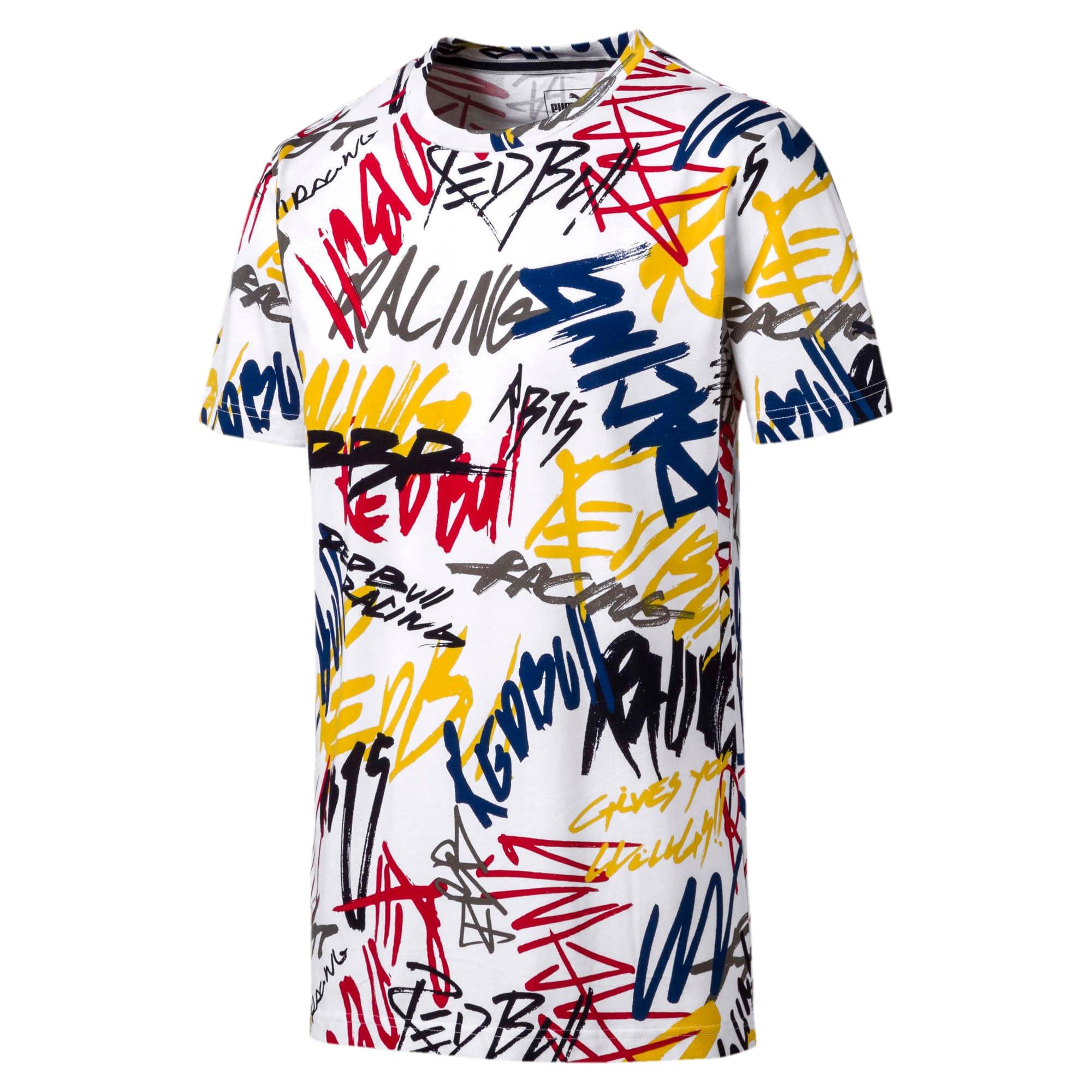 Miniatura 1 de Camiseta Red Bull AOP para hombre, Puma White, mediano