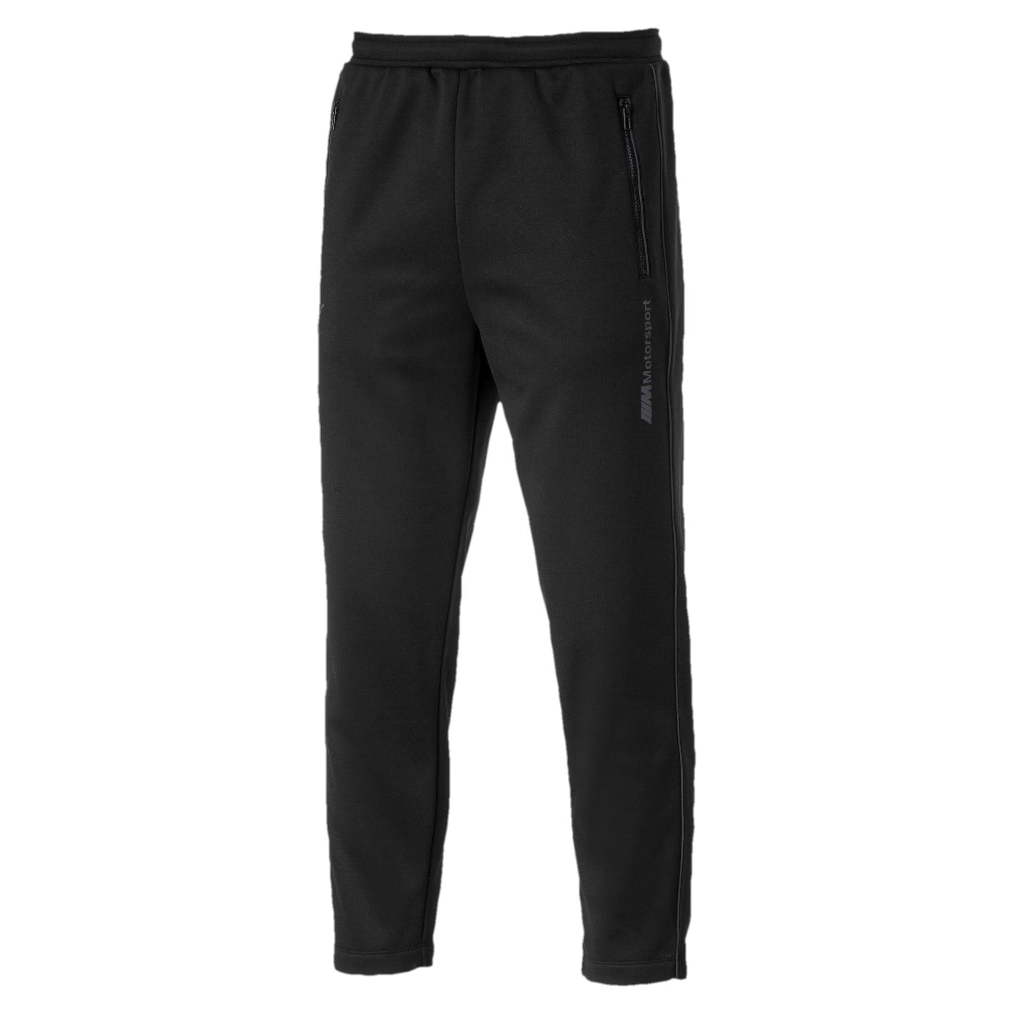 Miniatura 1 de Pantalones deportivos BMW M  Motorsport Life para hombre, Puma Black, mediano