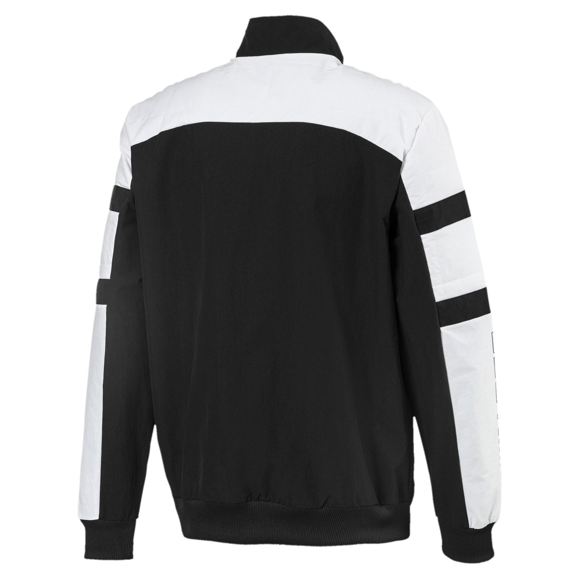 Thumbnail 5 of BMW Motorsport Street Woven Men's Jacket, Puma Black, medium