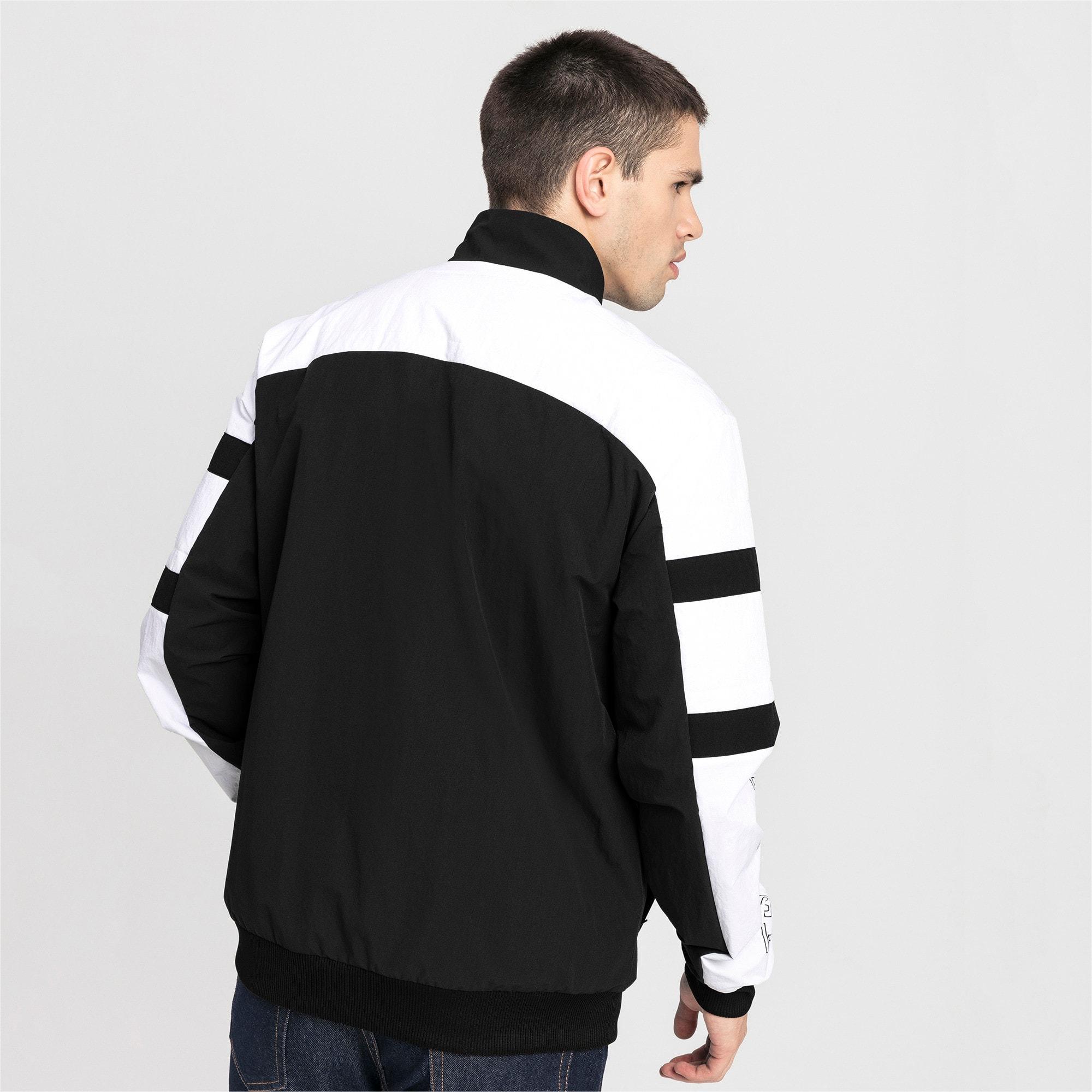 Thumbnail 2 of BMW Motorsport Street Woven Men's Jacket, Puma Black, medium