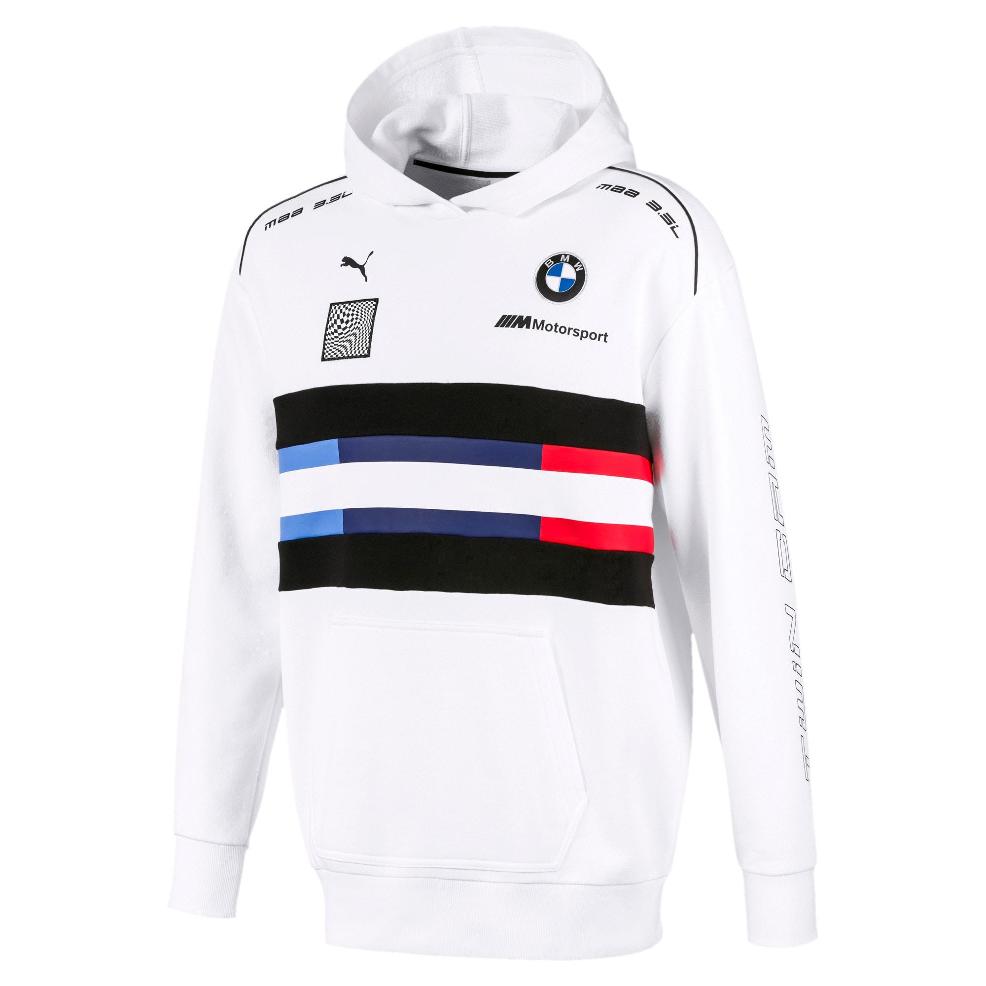 Miniatura 1 de Chaqueta BMW M Motorsport Street para hombre, Puma White, mediano