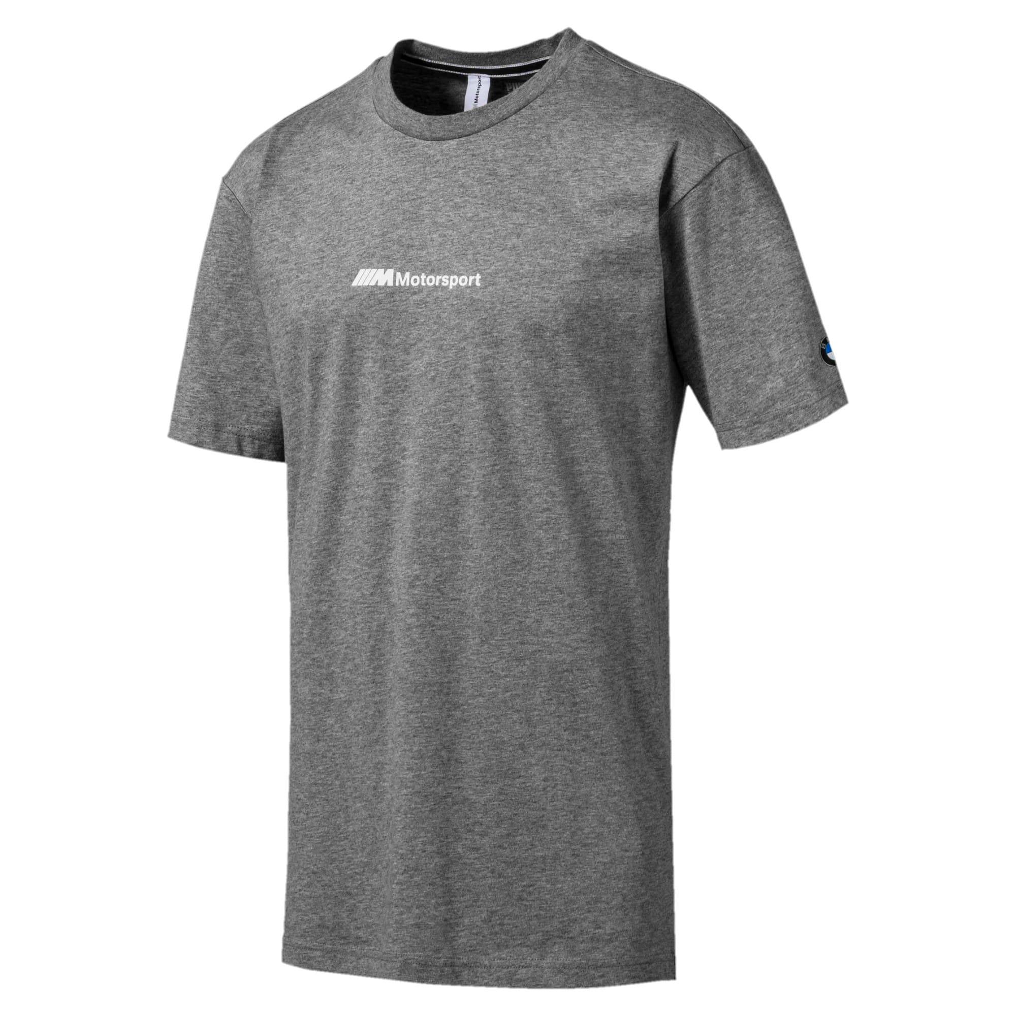Miniatura 1 de Camiseta estampada BMW M Motorsport Street para hombre, Medium Gray Heather, mediano