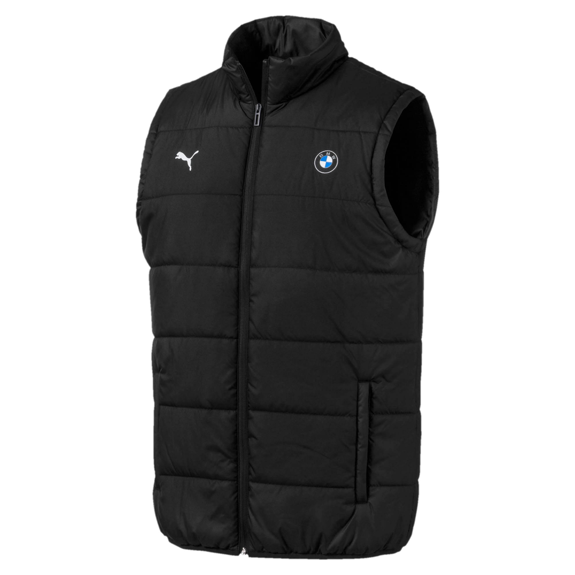 Thumbnail 5 of BMW M Motorsports Men's Padded Vest, Puma Black, medium