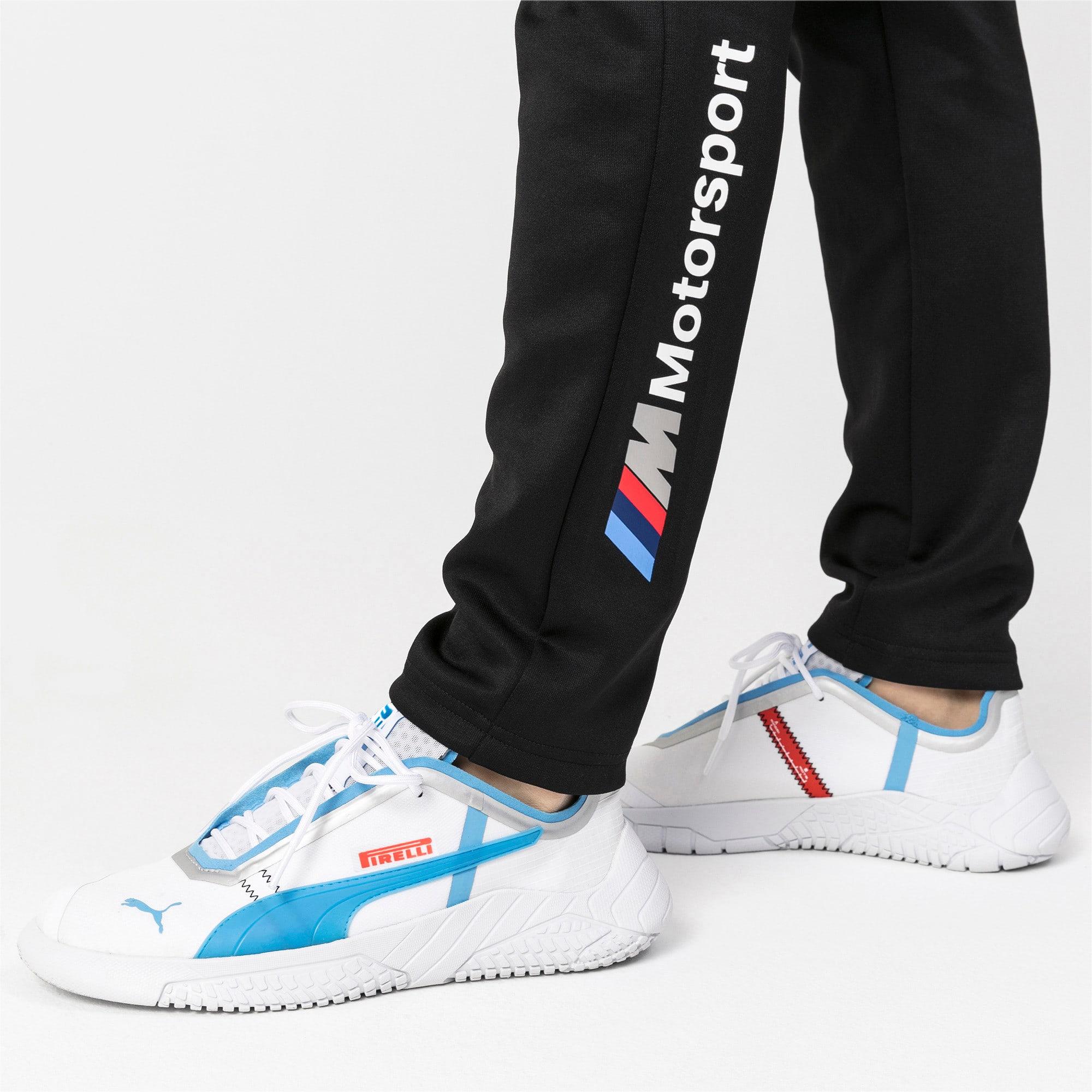 Thumbnail 4 of BMW M Motorsport T7 Men's Track Pants, Puma Black, medium
