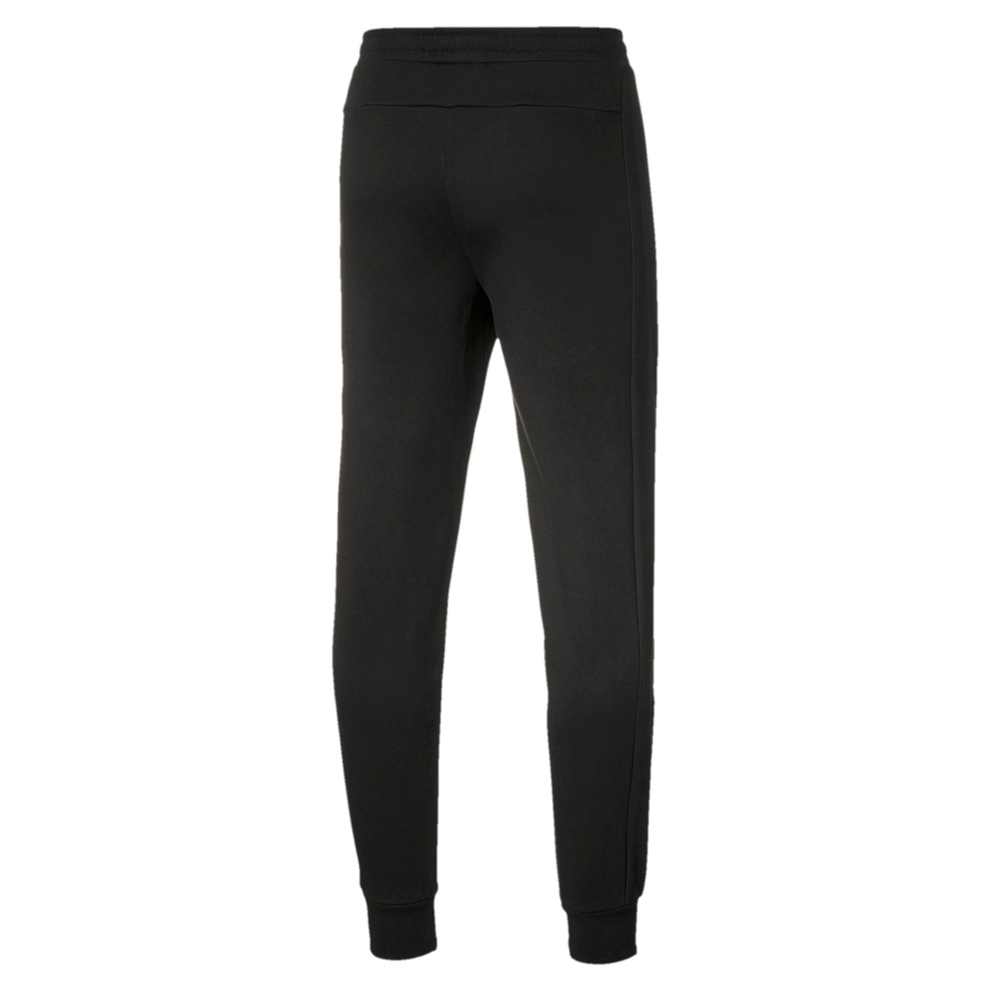 Thumbnail 2 of BMW M Motorsport Knitted Men's Sweatpants, Puma Black, medium
