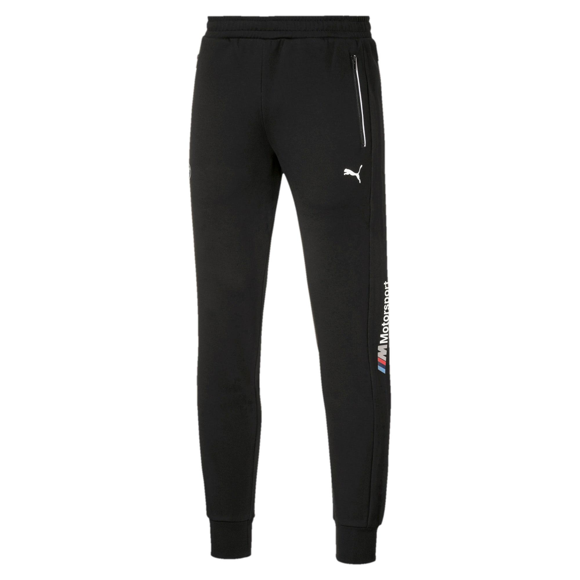 Thumbnail 1 of BMW M Motorsport Knitted Men's Sweatpants, Puma Black, medium