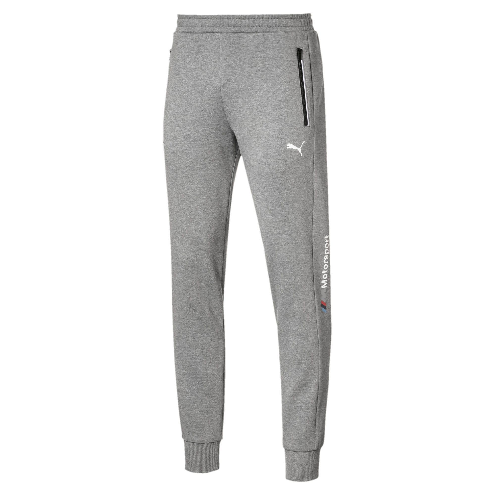 Thumbnail 1 of BMW M Motorsport Knitted Men's Sweatpants, Medium Gray Heather, medium