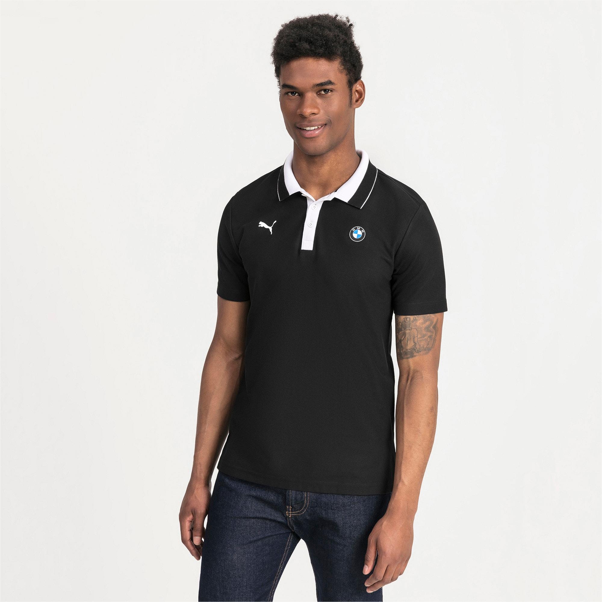 Thumbnail 1 of BMW M Motorsport Men's Polo Shirt, Puma Black, medium