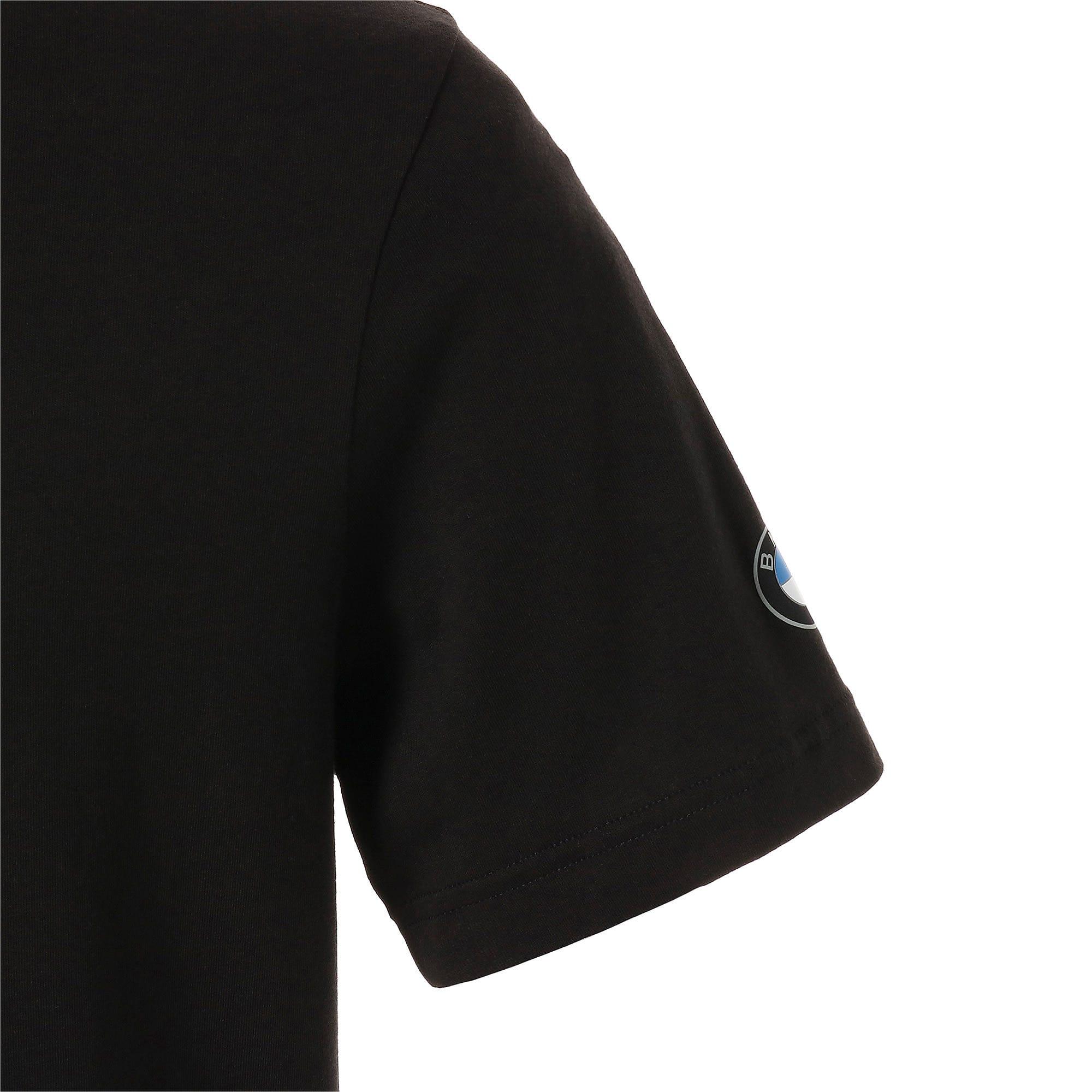Thumbnail 8 of BMW MMS ロゴ Tシャツ +, Puma Black, medium-JPN