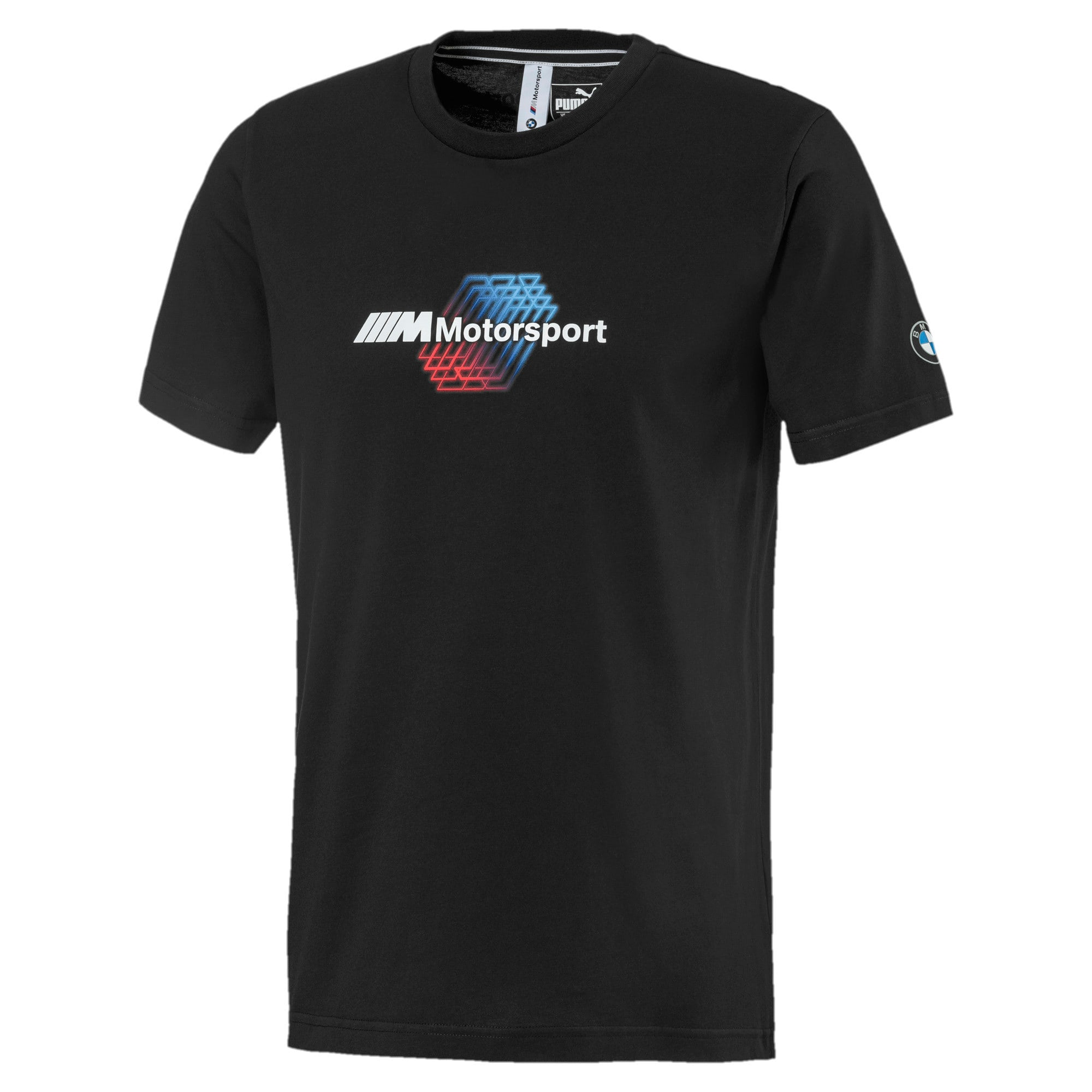 Thumbnail 4 of BMW M Motorsports Logo Men's Tee, Puma Black, medium