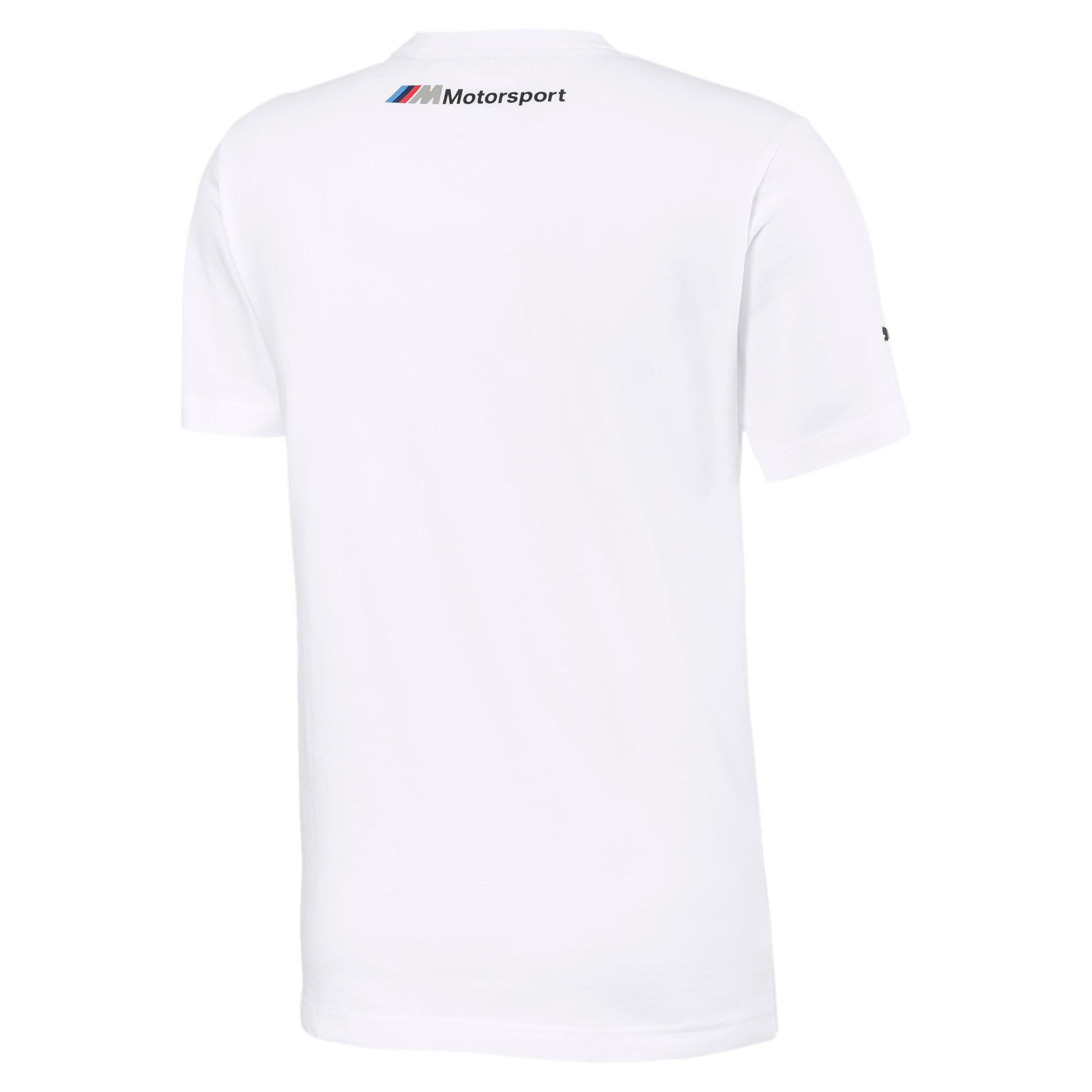Thumbnail 5 of BMW M Motorsports Logo Men's Tee, Puma White, medium