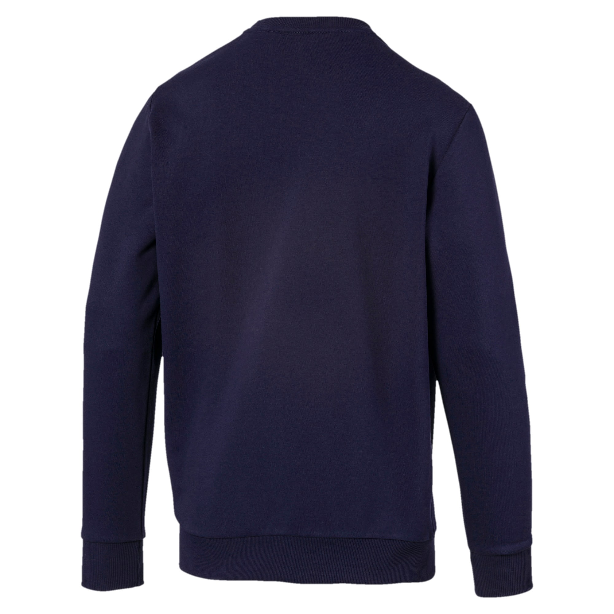 Thumbnail 5 of Classics Logo Men's Crewneck Sweatshirt, Peacoat, medium