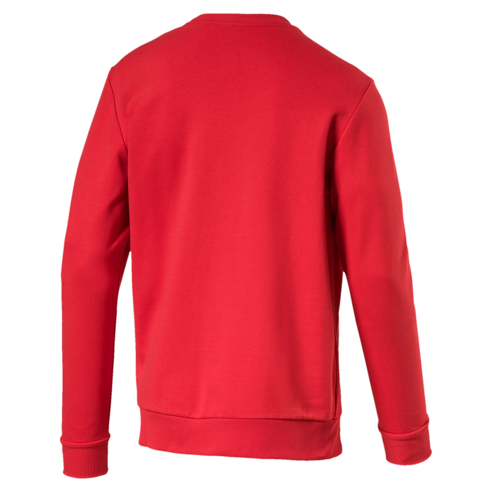 Thumbnail 5 of Classics Logo Men's Crewneck Sweatshirt, High Risk Red--logo combo, medium