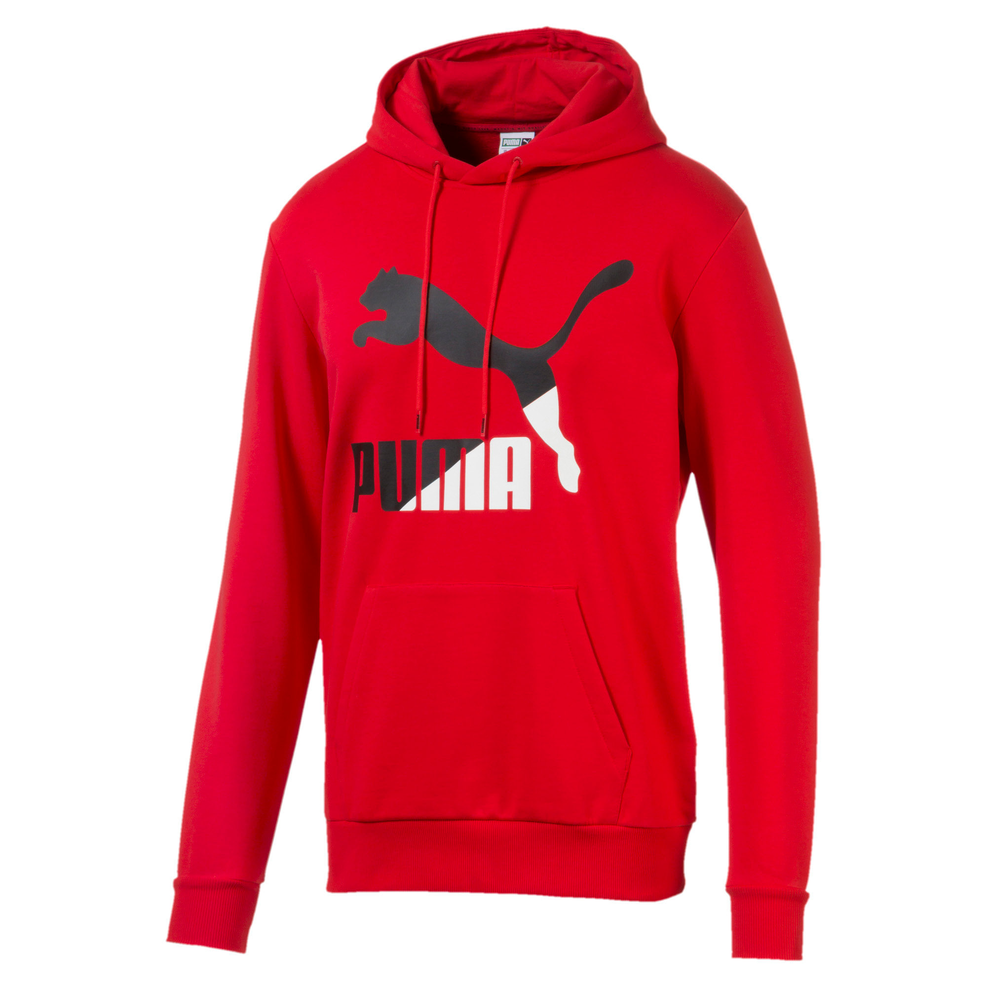 Thumbnail 1 of Classics Men's Logo Hoodie, High Risk Red--logo combo, medium