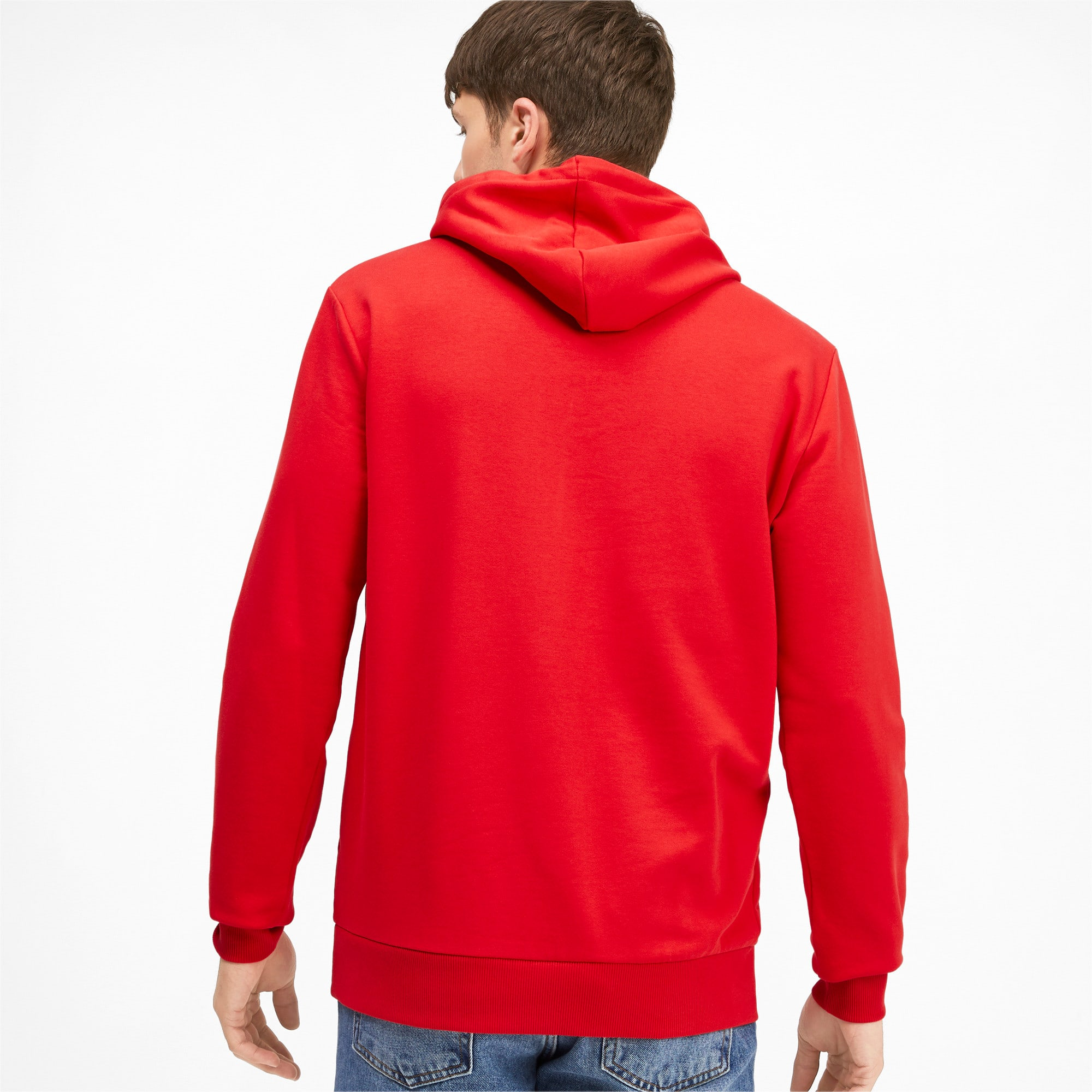 Thumbnail 3 of Classics Men's Logo Hoodie, High Risk Red--logo combo, medium