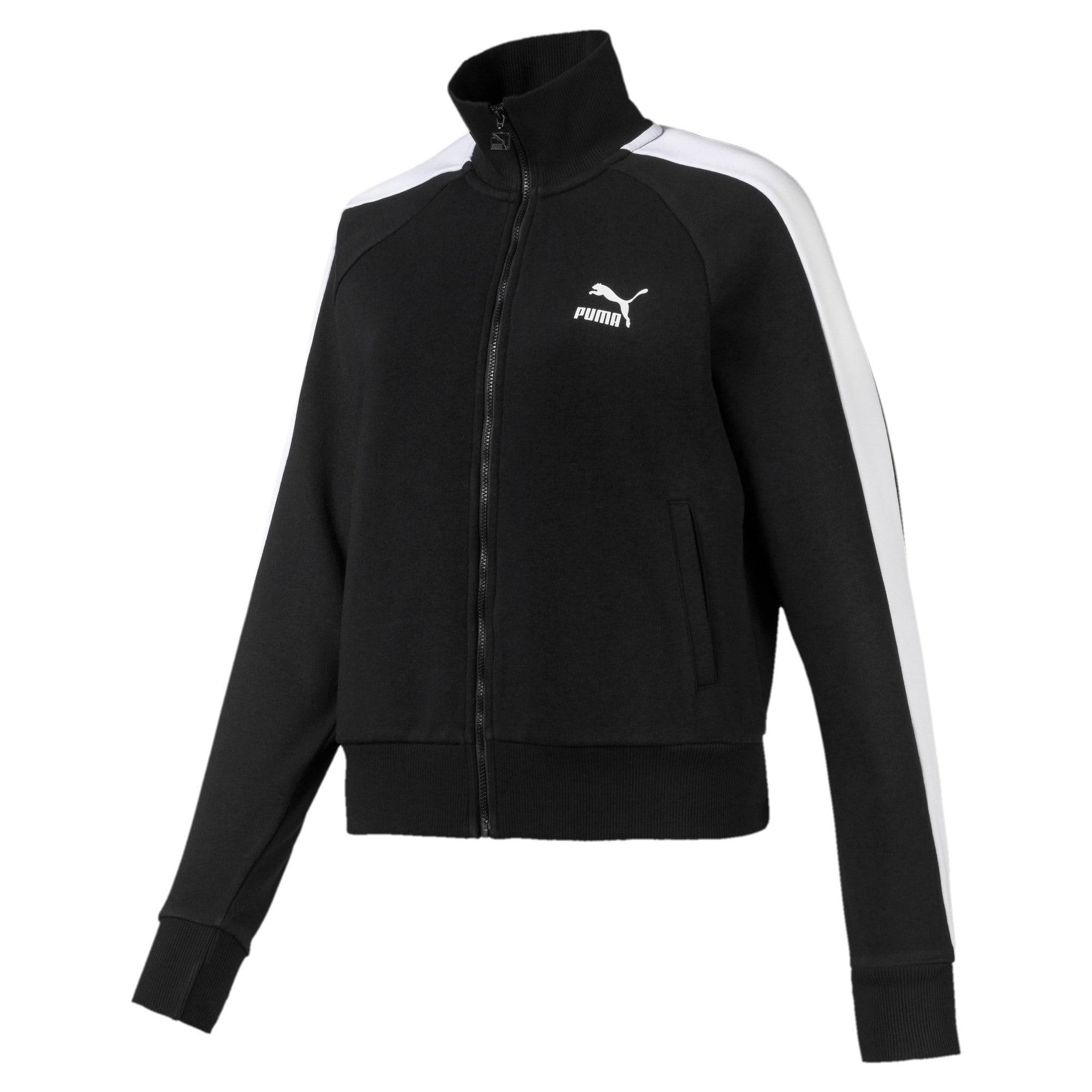 Miniatura 1 de Chaqueta deportiva Classics T7 para mujer, Puma Black, mediano