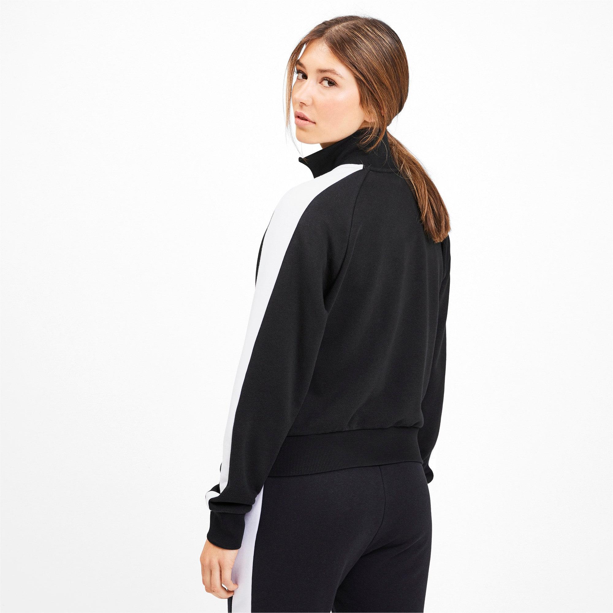 Thumbnail 3 of Classics T7 Women's Track Jacket, Puma Black, medium