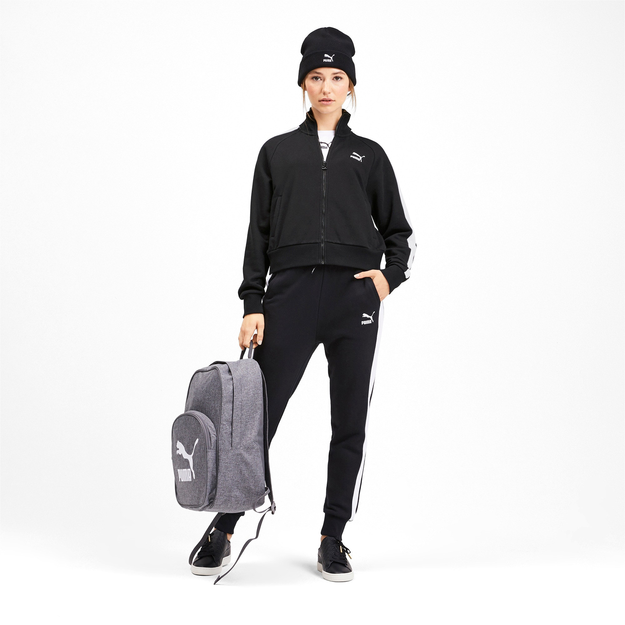 Thumbnail 4 of Classics T7 Women's Track Jacket, Puma Black, medium