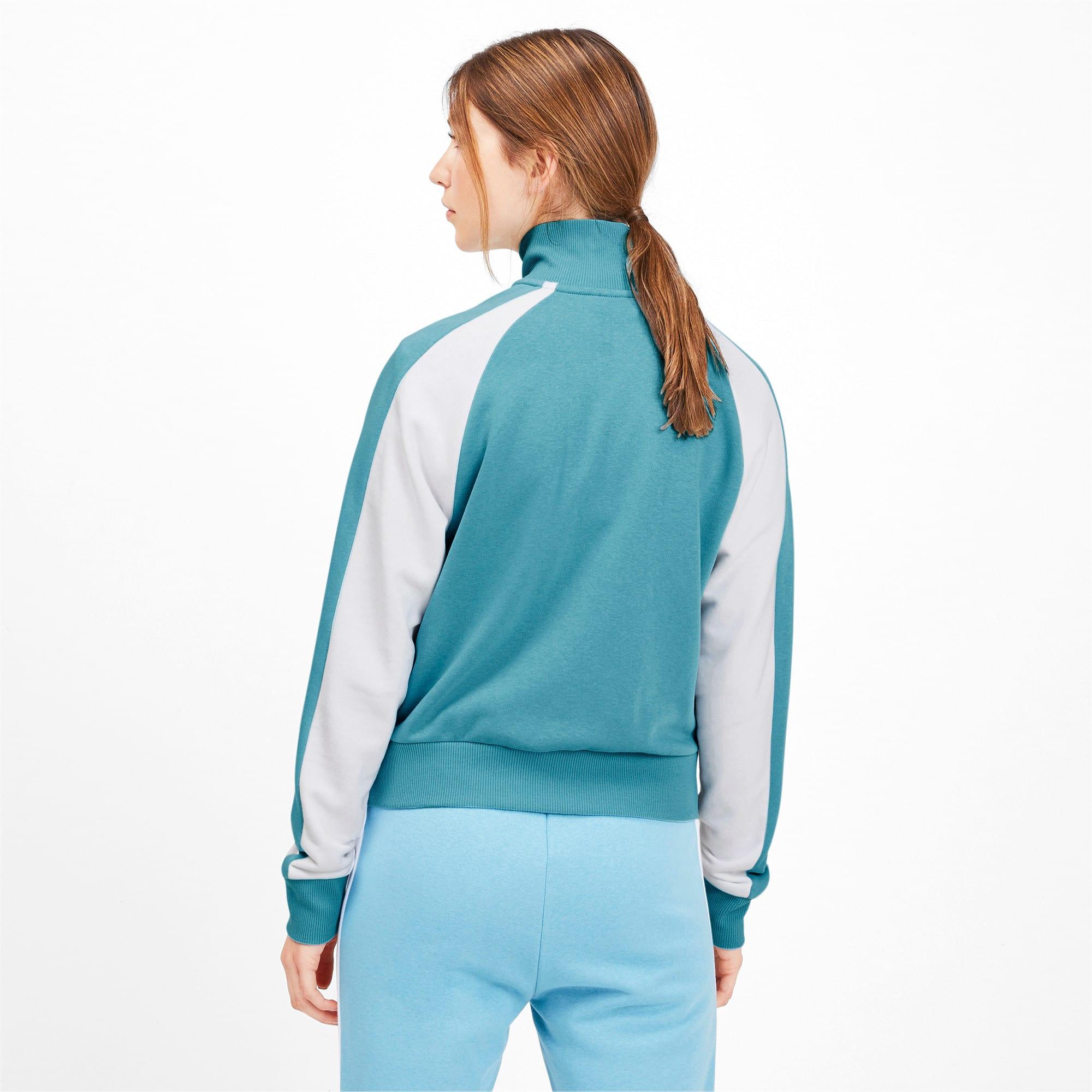Miniatura 3 de Chaqueta deportiva Classics T7 para mujer, Milky Blue, mediano