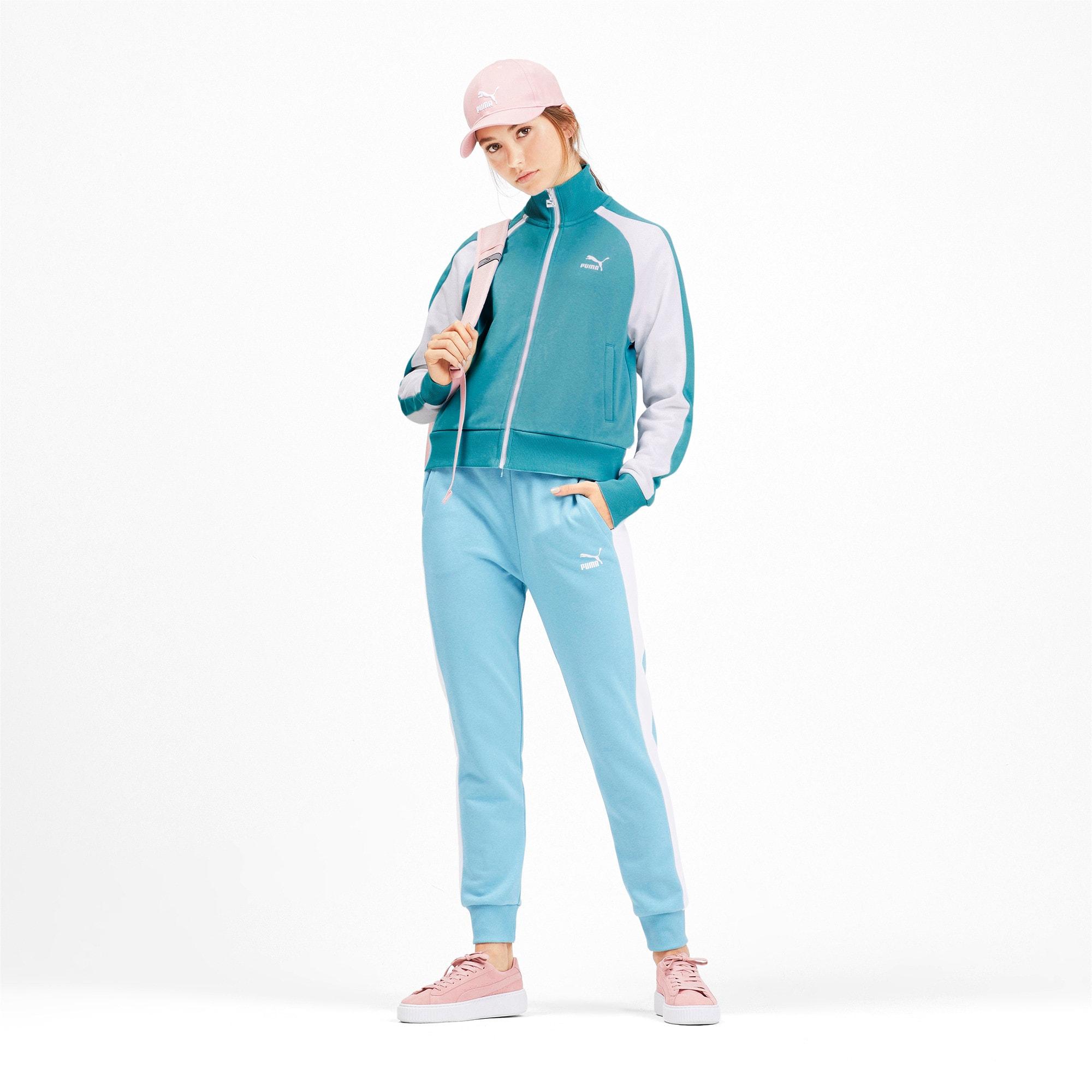 Miniatura 4 de Chaqueta deportiva Classics T7 para mujer, Milky Blue, mediano