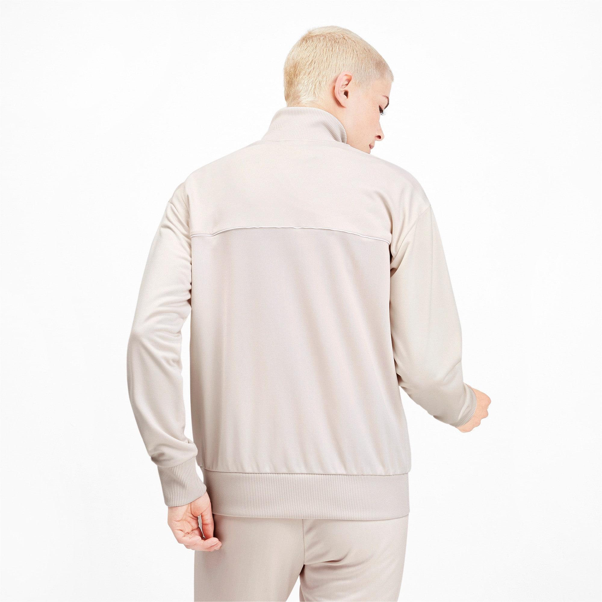 Thumbnail 2 of Classics Poly Women's Track Jacket, Pastel Parchment, medium