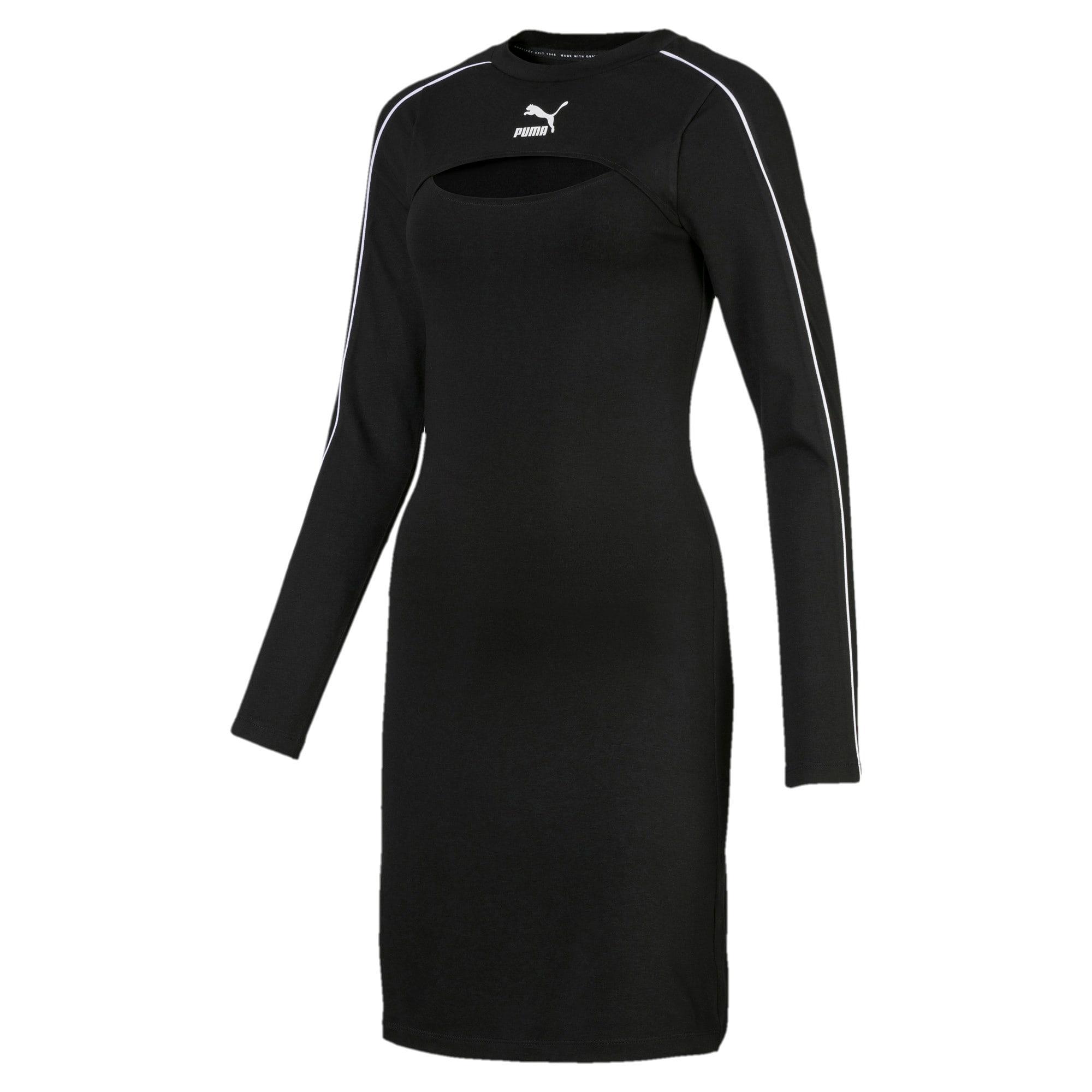 Vignette 4 de Robe classique, femme, Puma Black, moyen