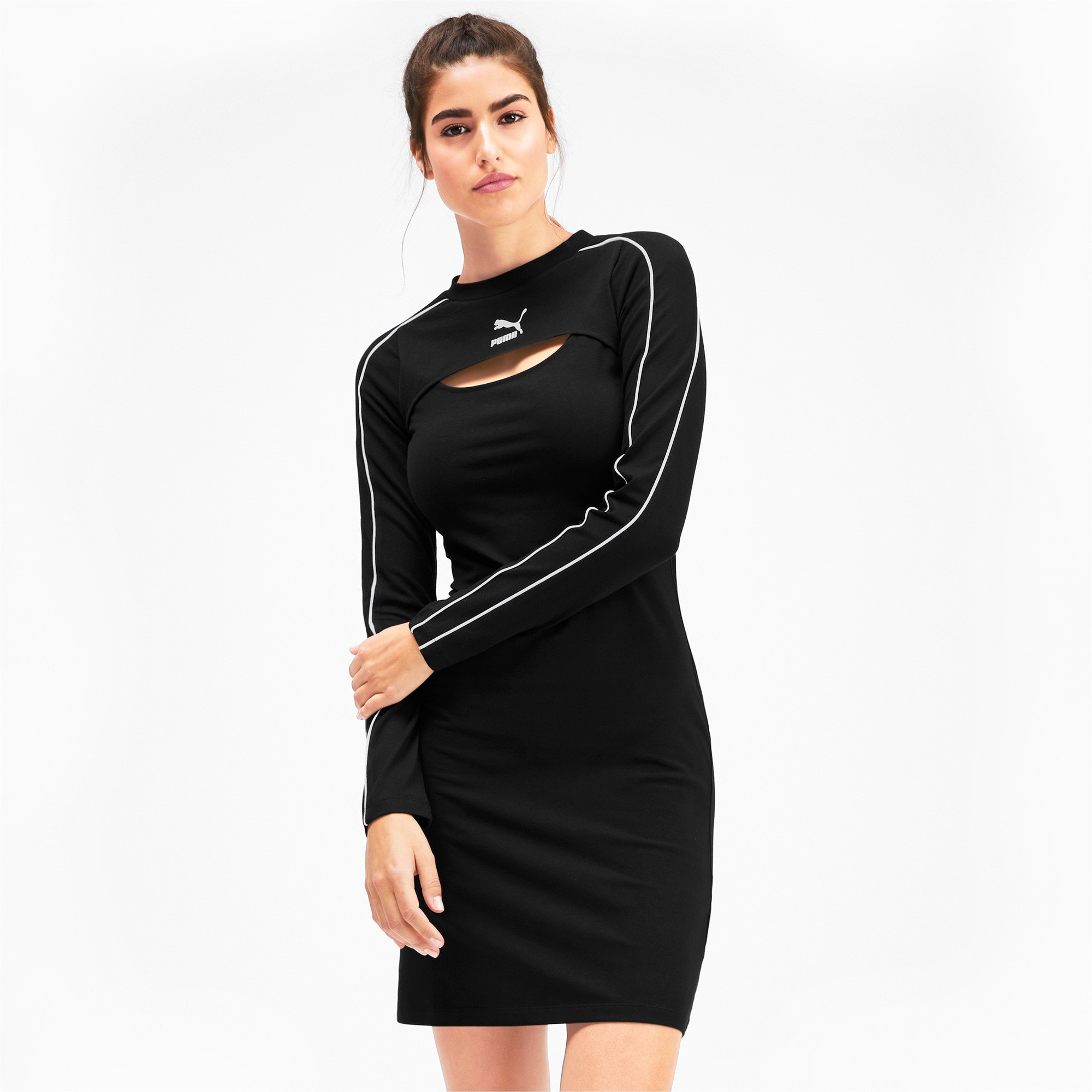 Thumbnail 1 of Classics Damen Kleid, Puma Black, medium